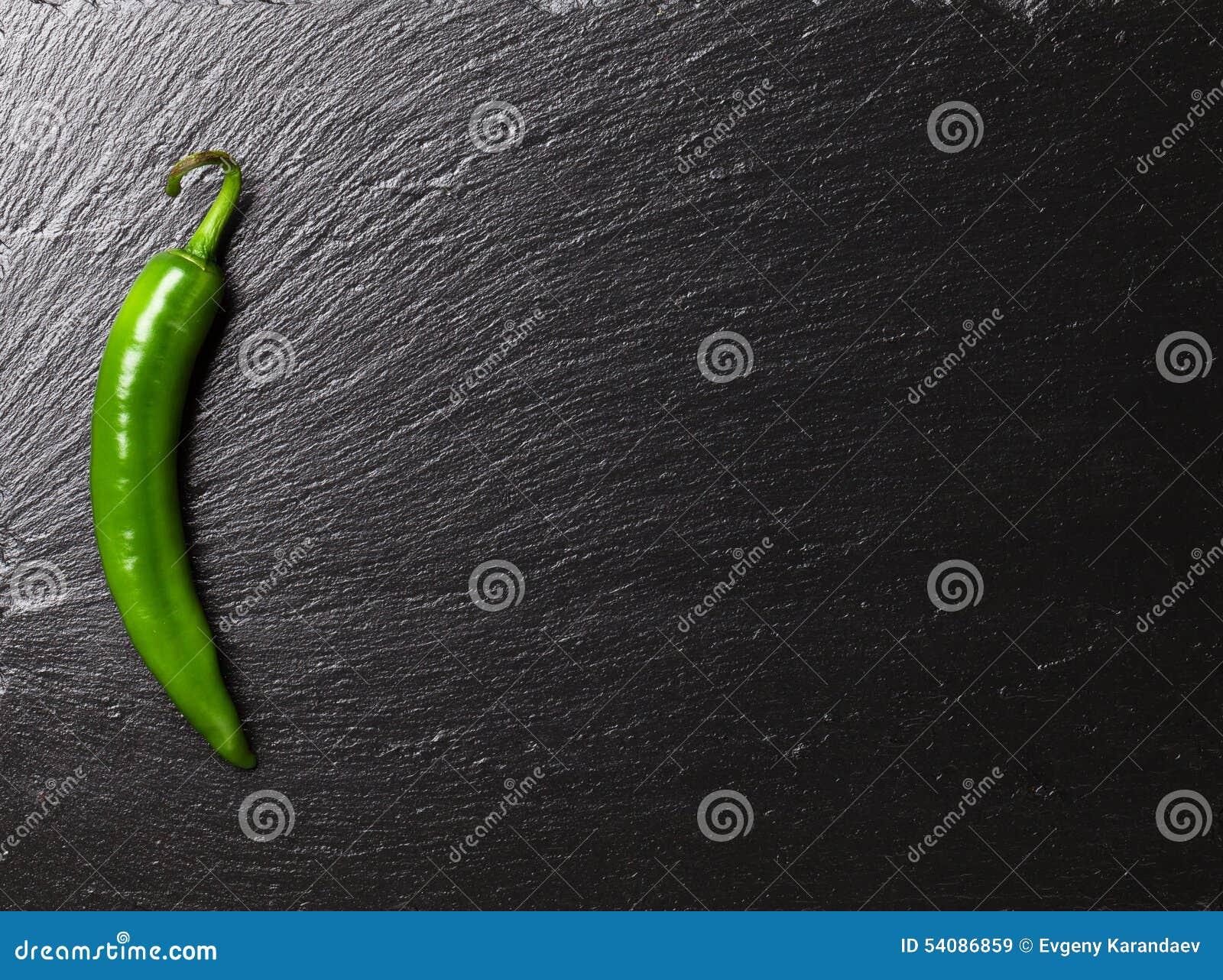 Groene Spaanse peperpeper