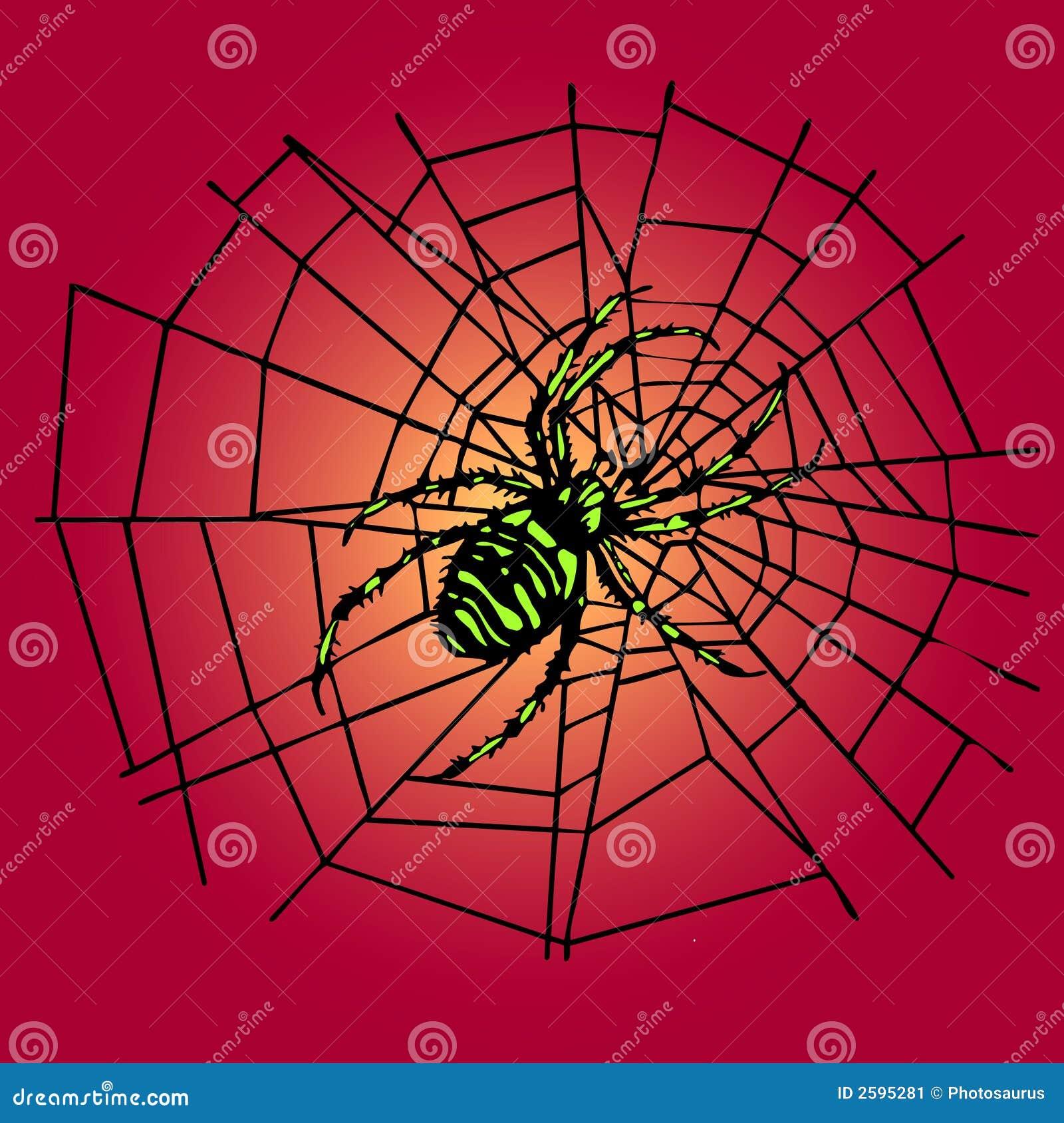 Groene spin in het Web