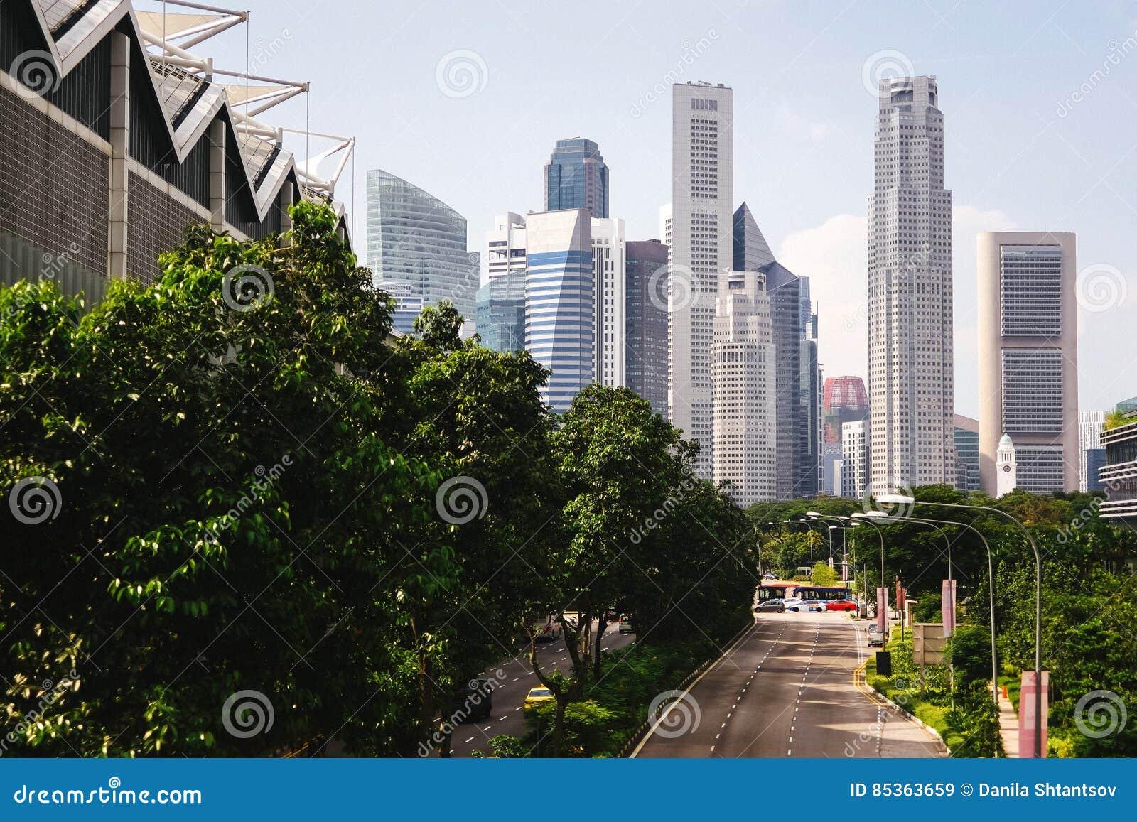 Groene stad van de toekomst