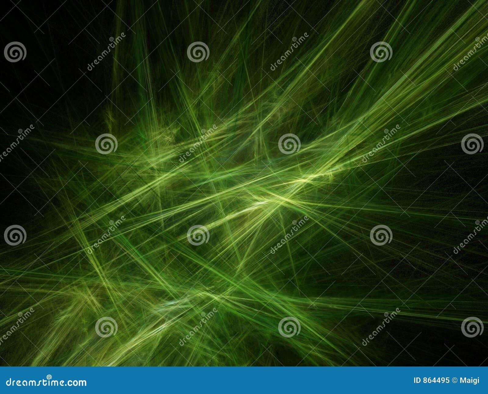 Groene stralen