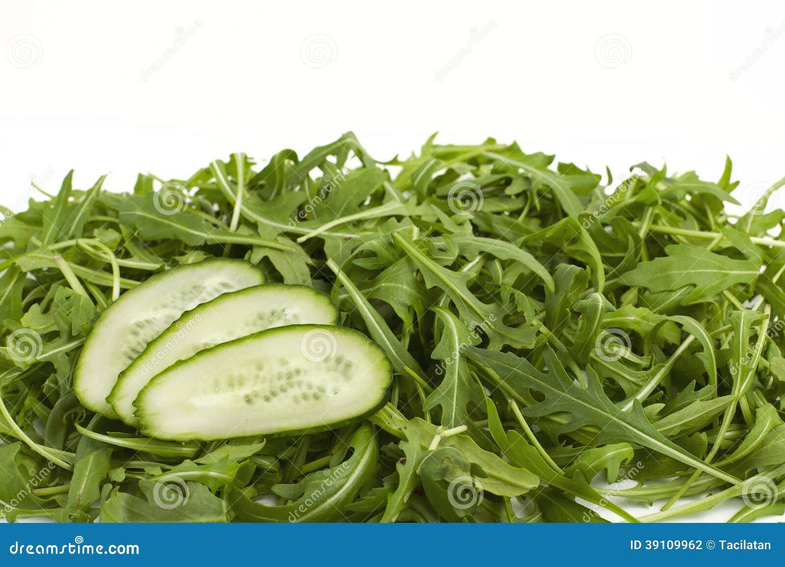 Groene verse komkommers