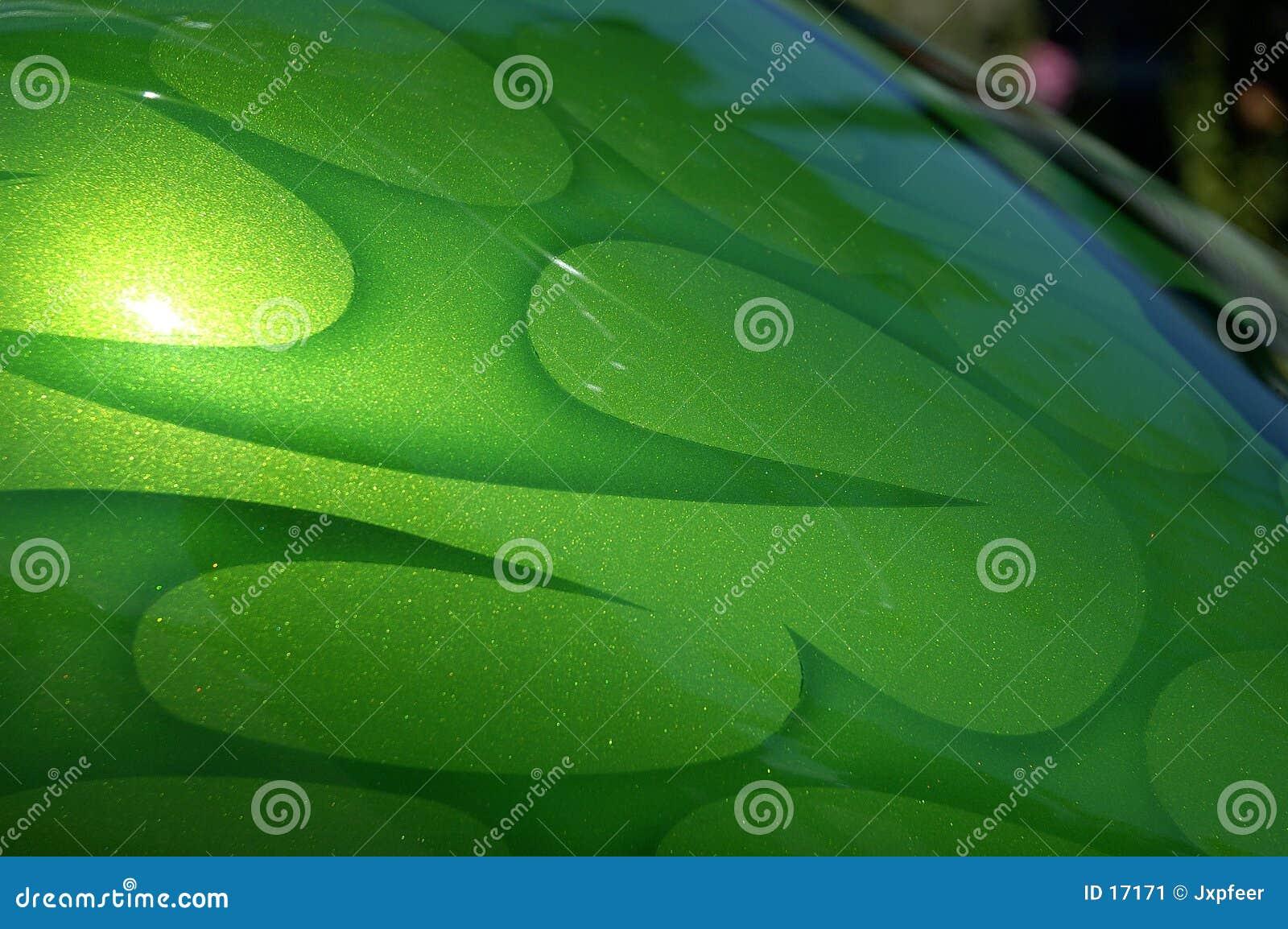 Groene vlammen