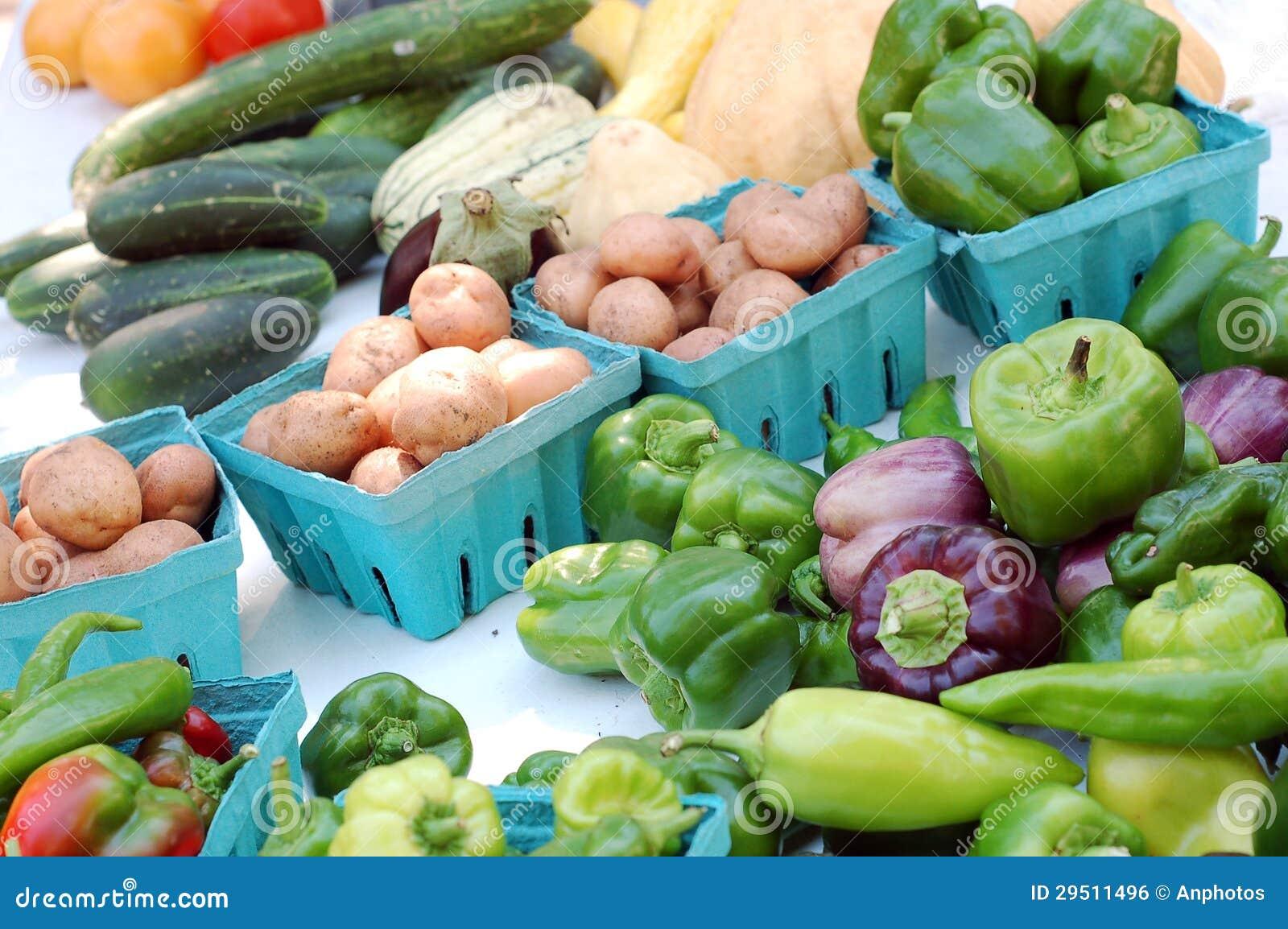 Groente in marktplaats