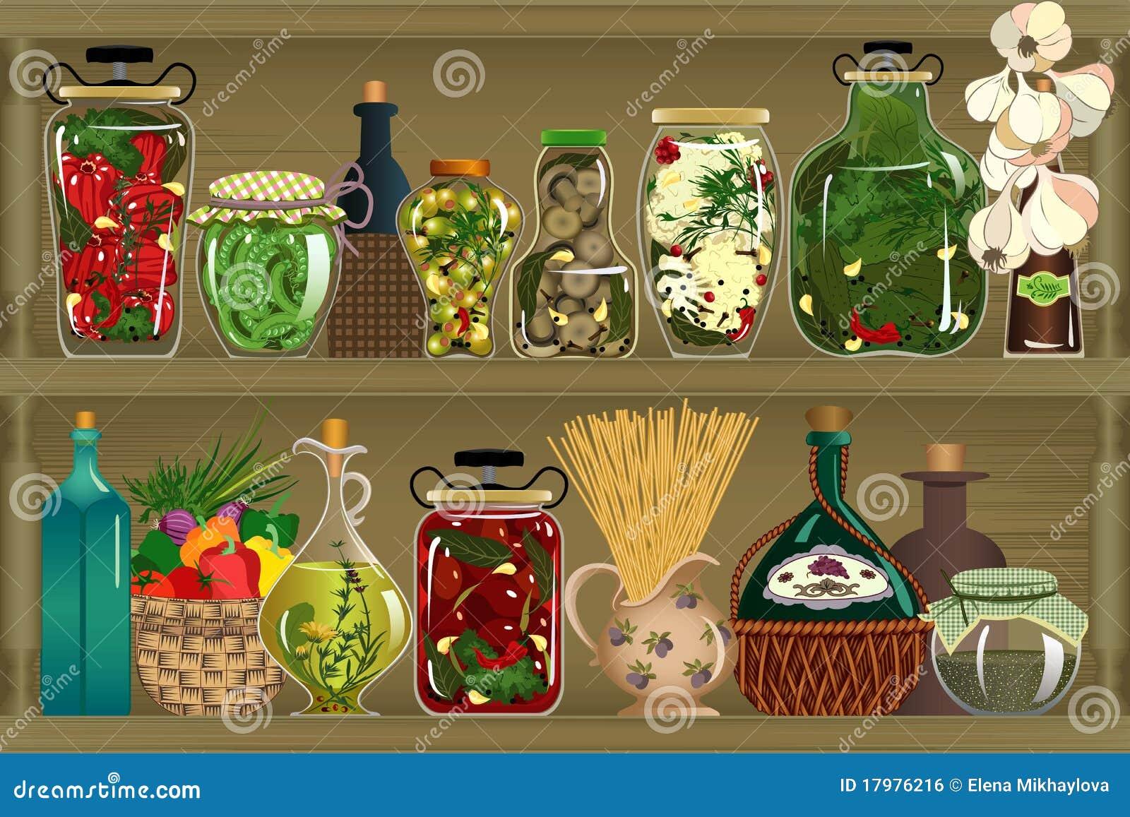 Groenten in het zuur