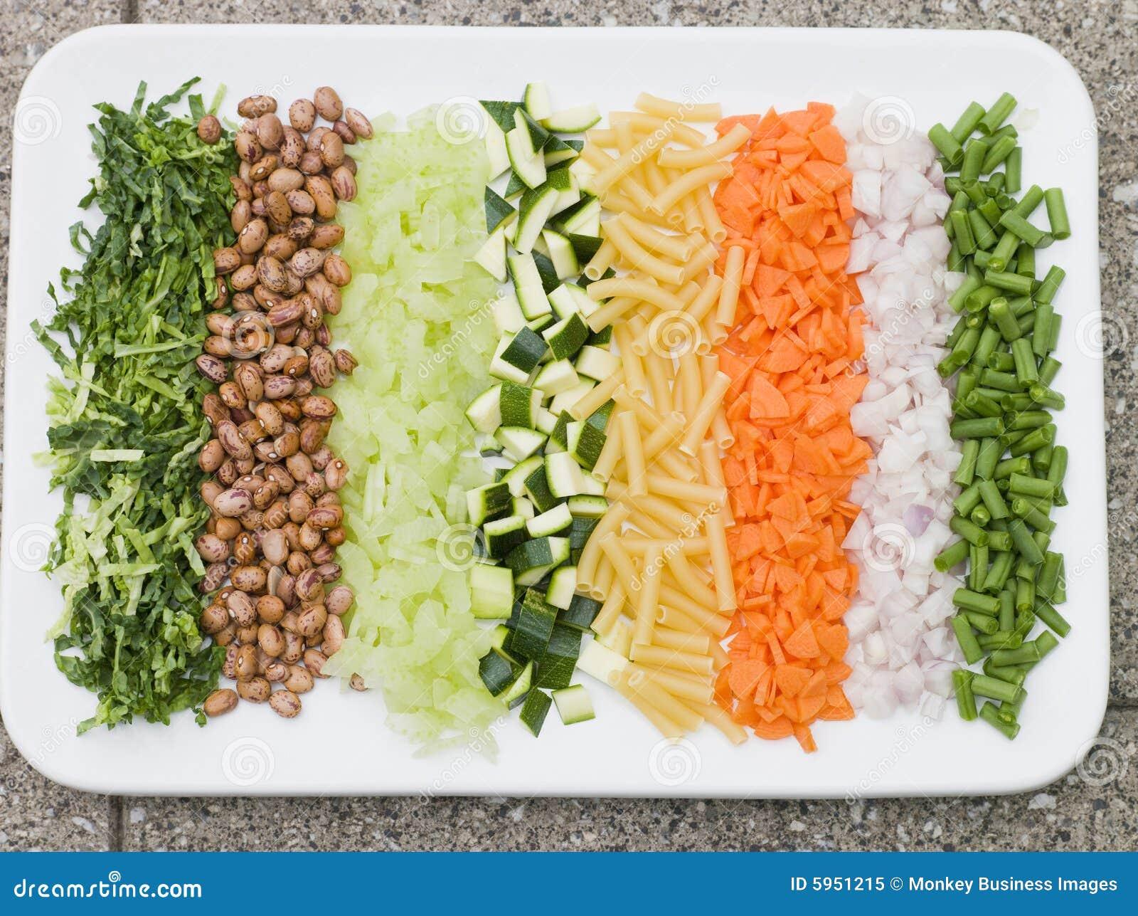 Groenten voor de soep van de minestrone royalty vrije stock foto afbeelding 5951215 - Hoek maaltijd ...