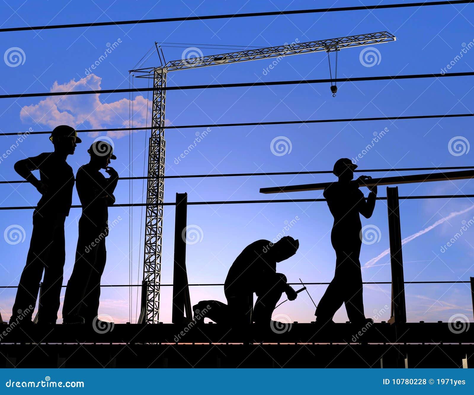 Groep de arbeiders