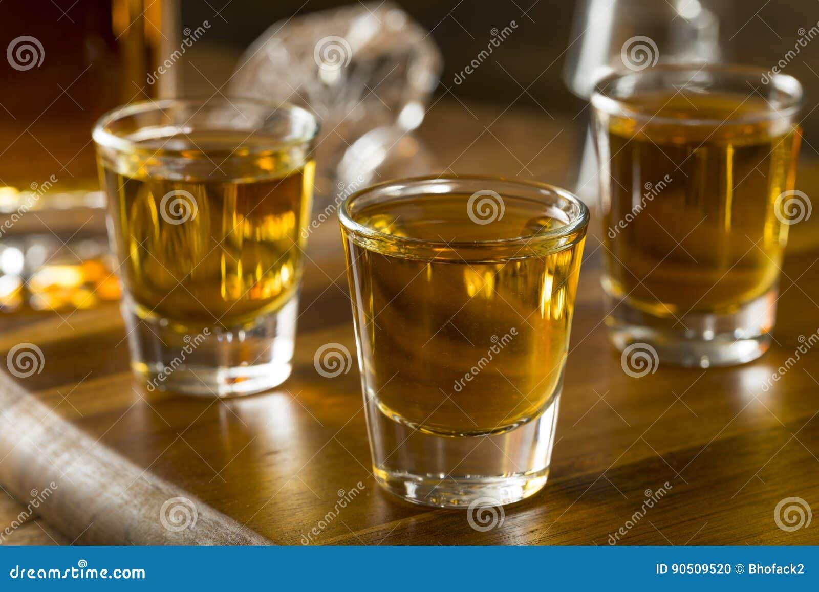 Groep de Schoten van de Bourbonwhisky