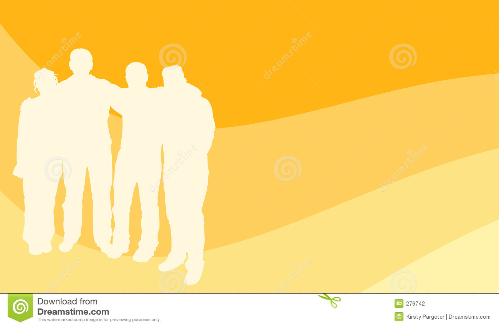 Groep jonge mensen