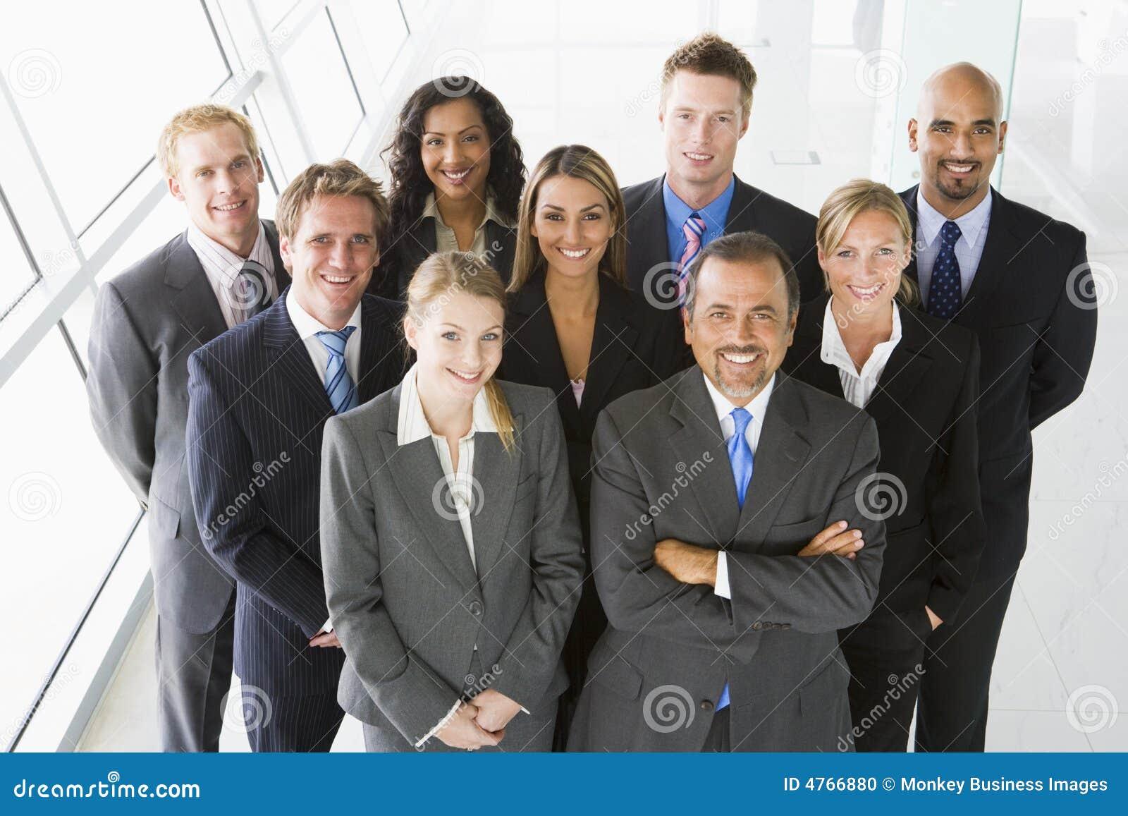 Groep medewerkers