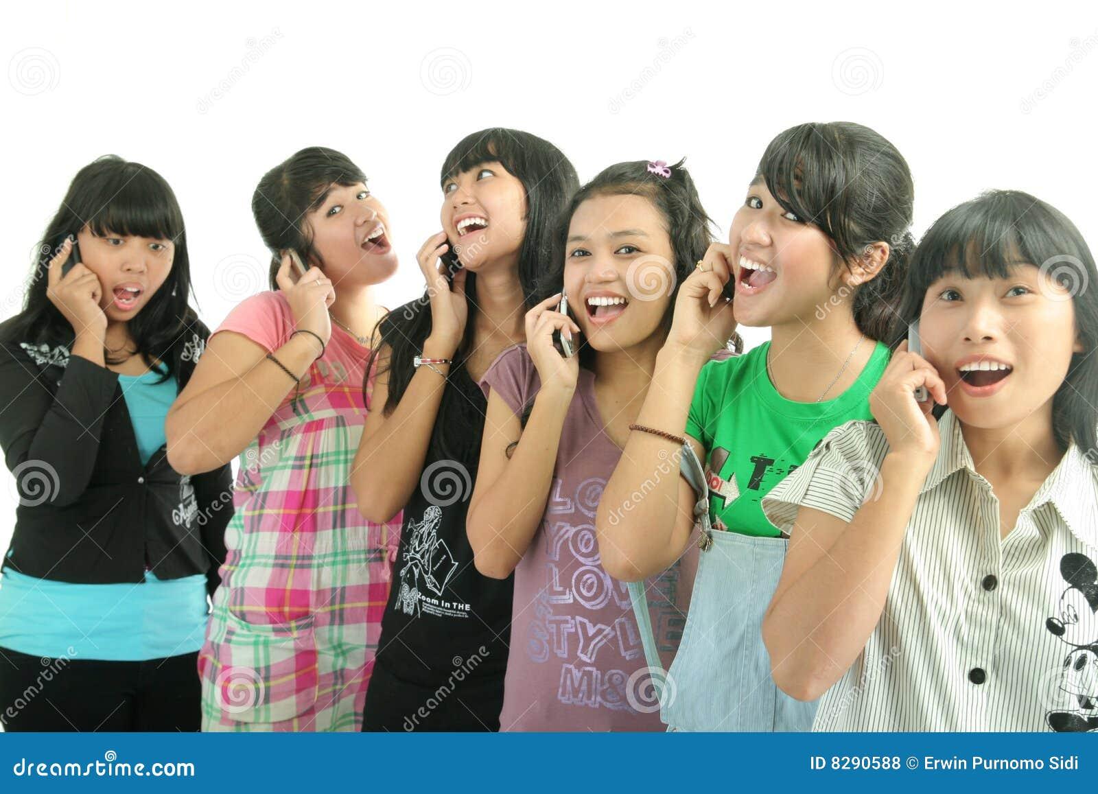 Groep meisjes