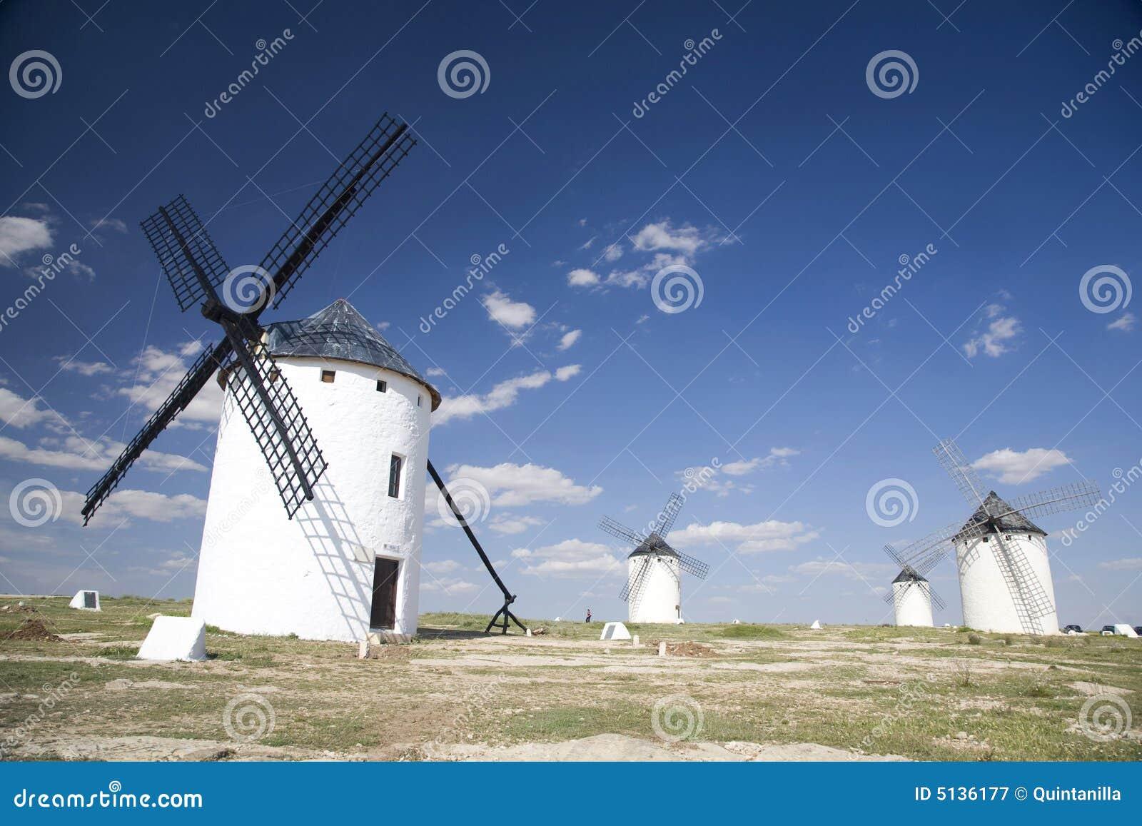 Groep Spaanse molens
