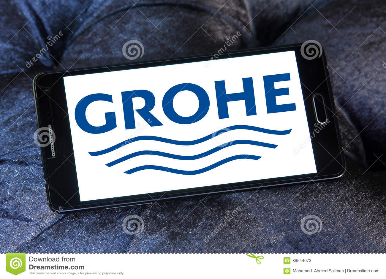 Grohe logo editorial stock photo. Image of laufen, brand - 89544073