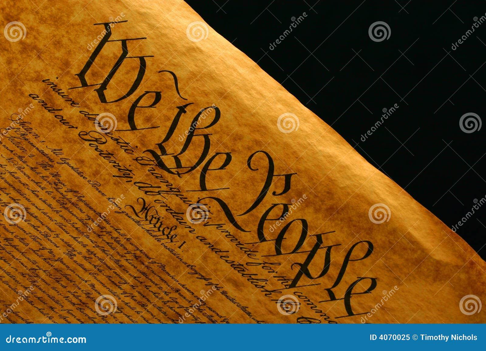 Grondwet II van Verenigde Staten