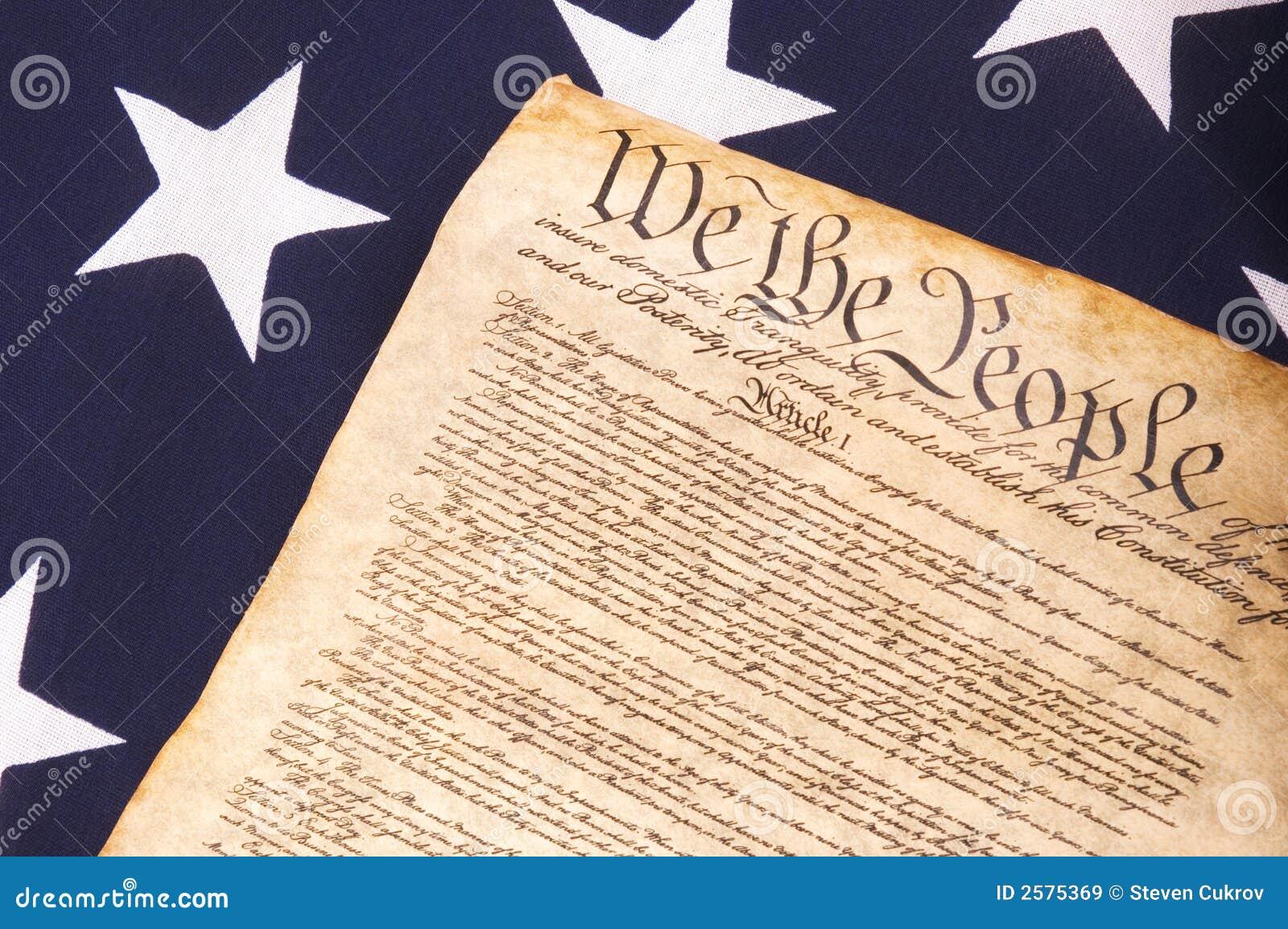 Grondwet op Vlag