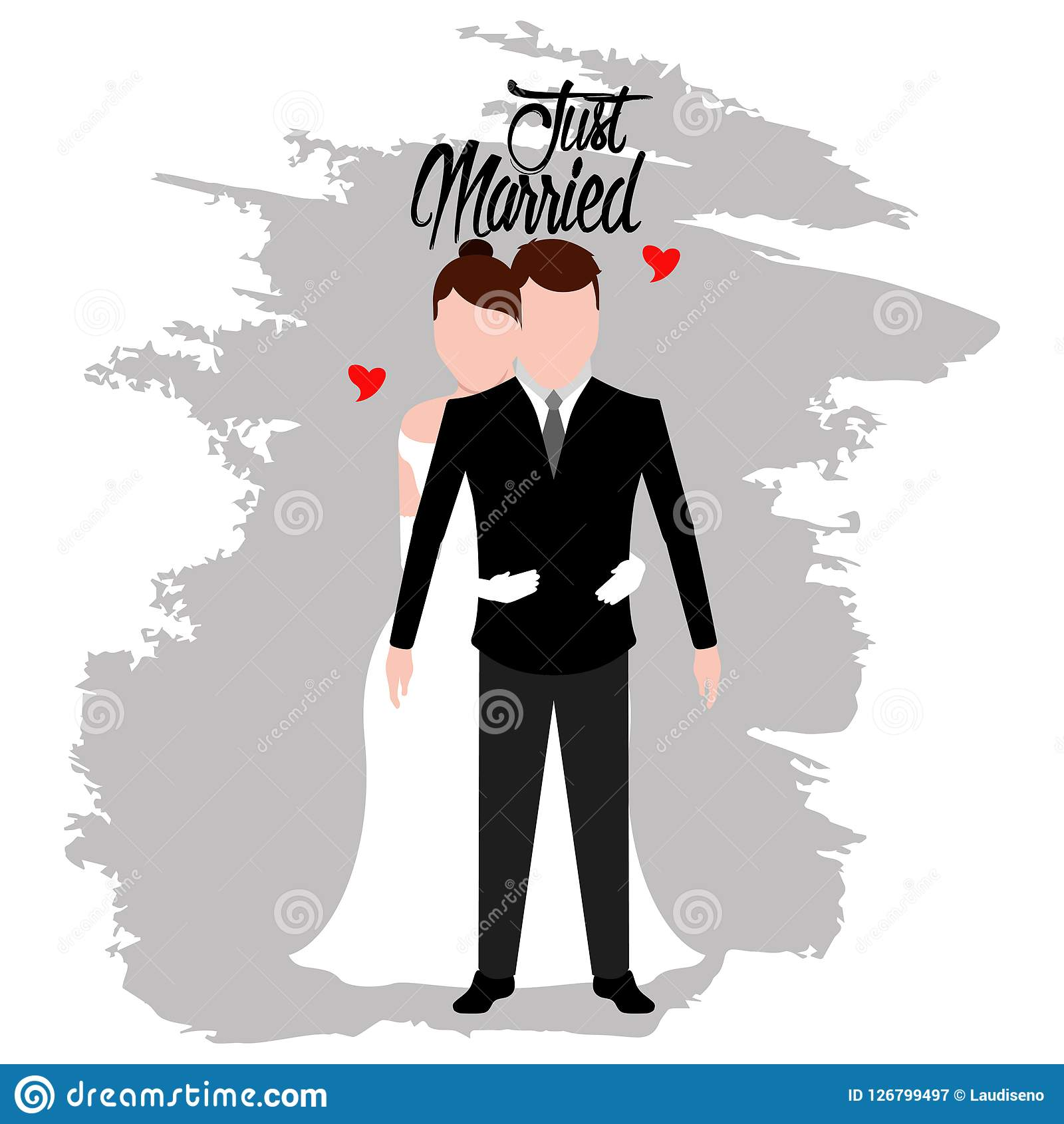 Just married Illustrations and Clipart. 6,815 Just married royalty free  illustrations, and drawings available to search from thousands of stock  vector EPS clip art graphic designers.
