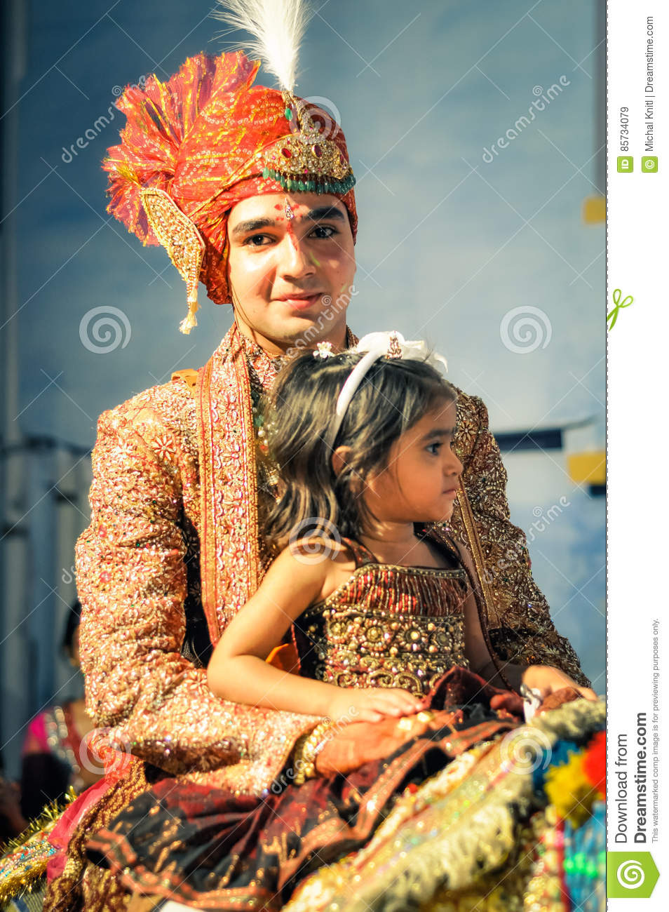 Groom In Rajasthan Editorial Stock Image Of Face