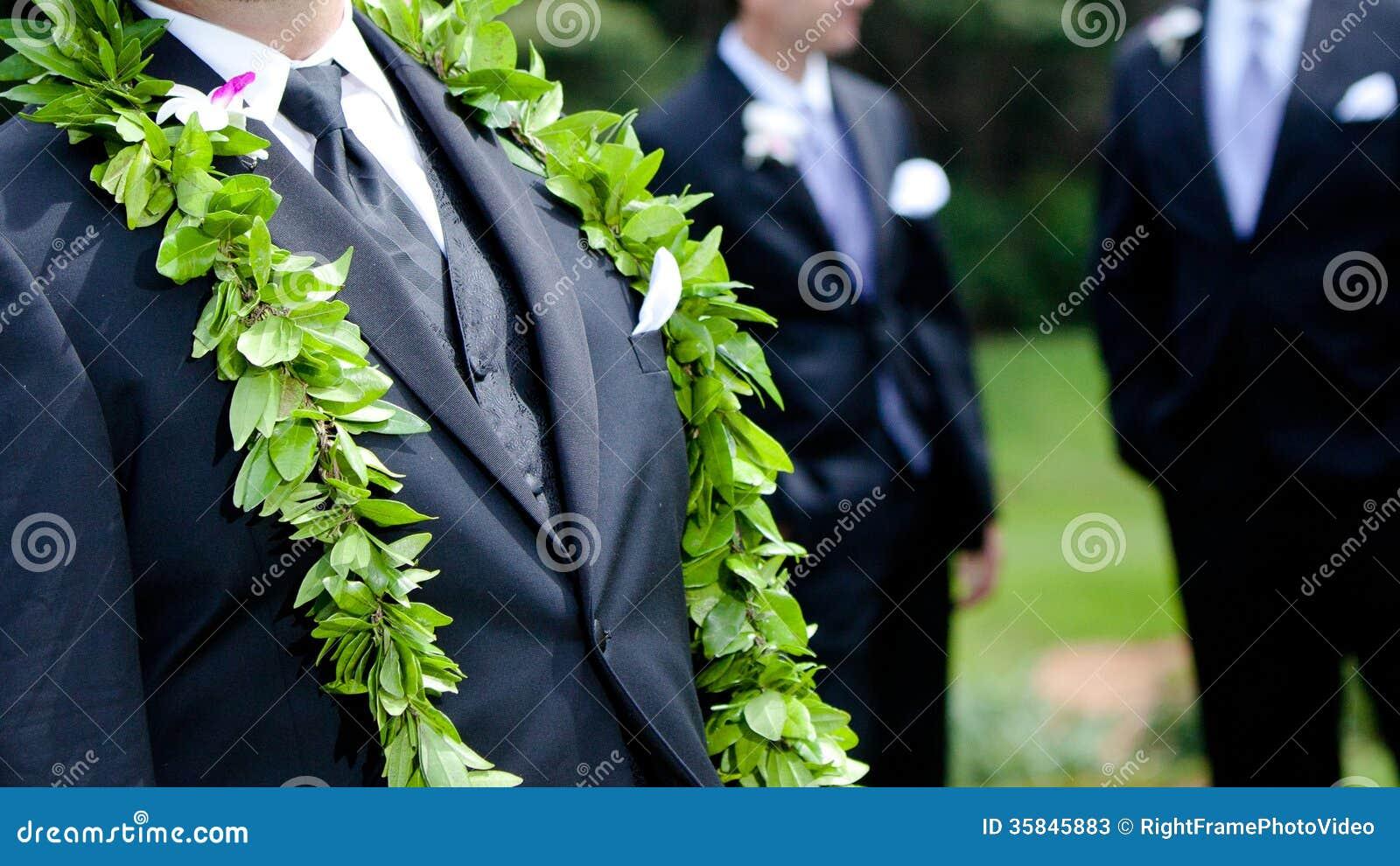 Grooms flowers hawaiian wedding stock image image of rose groom s flowers hawaiian wedding rose sprig izmirmasajfo Image collections