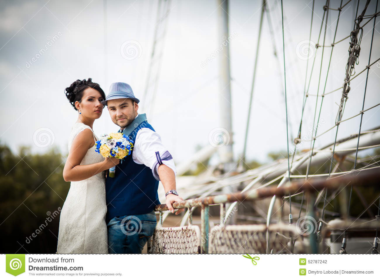 Groom Wedding Hat Stock Photo Image Of Dress Lifestyle 52787242