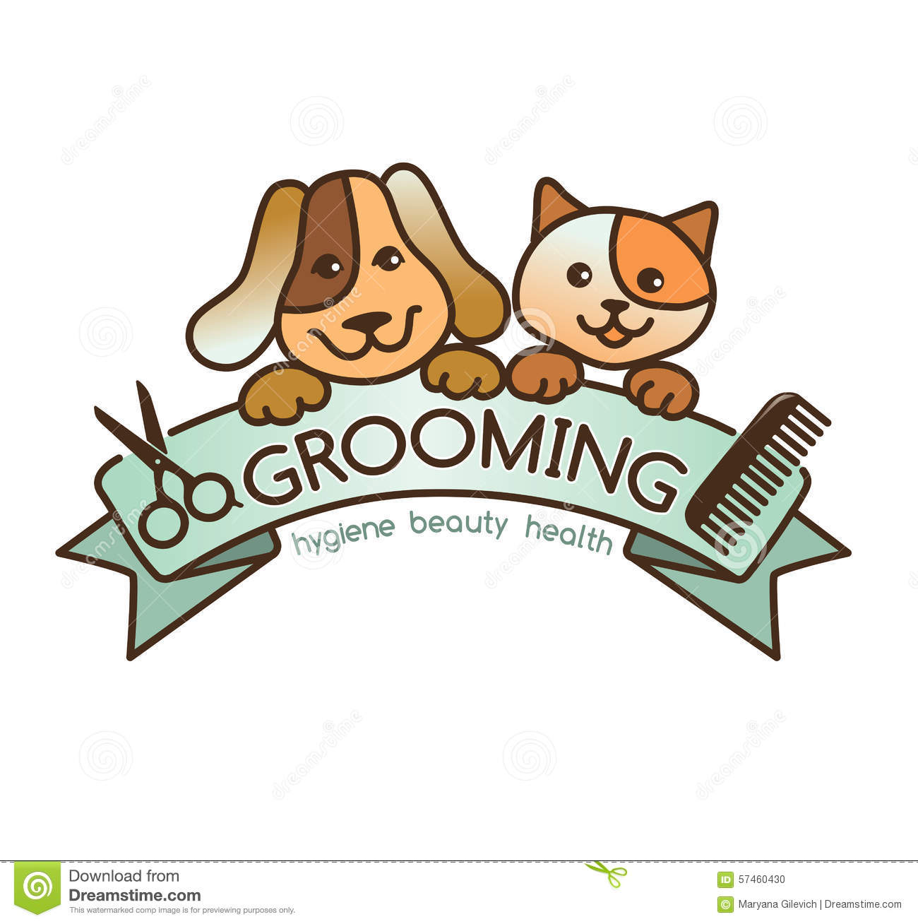 Dog Grooming Rjbbon