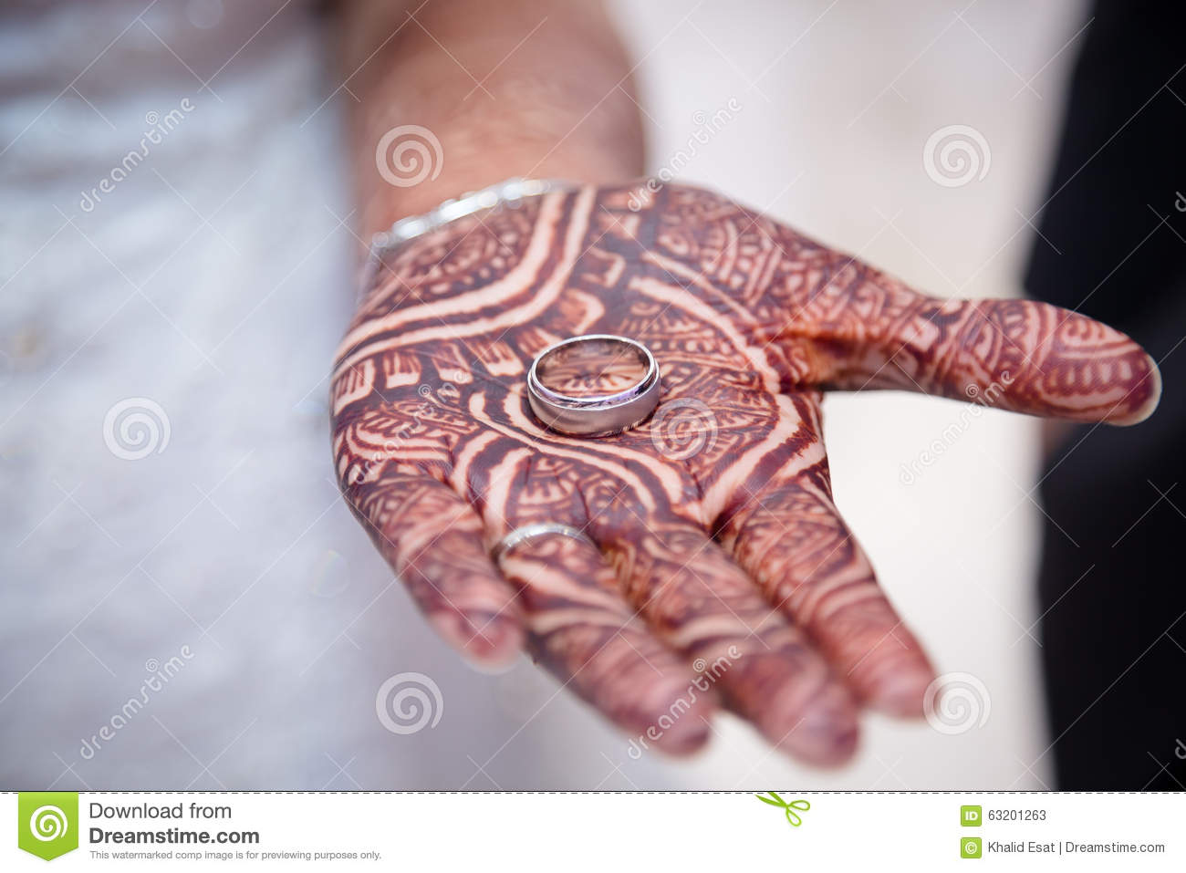 The grooms ring stock image. Image of rings, henna, indian - 63201263