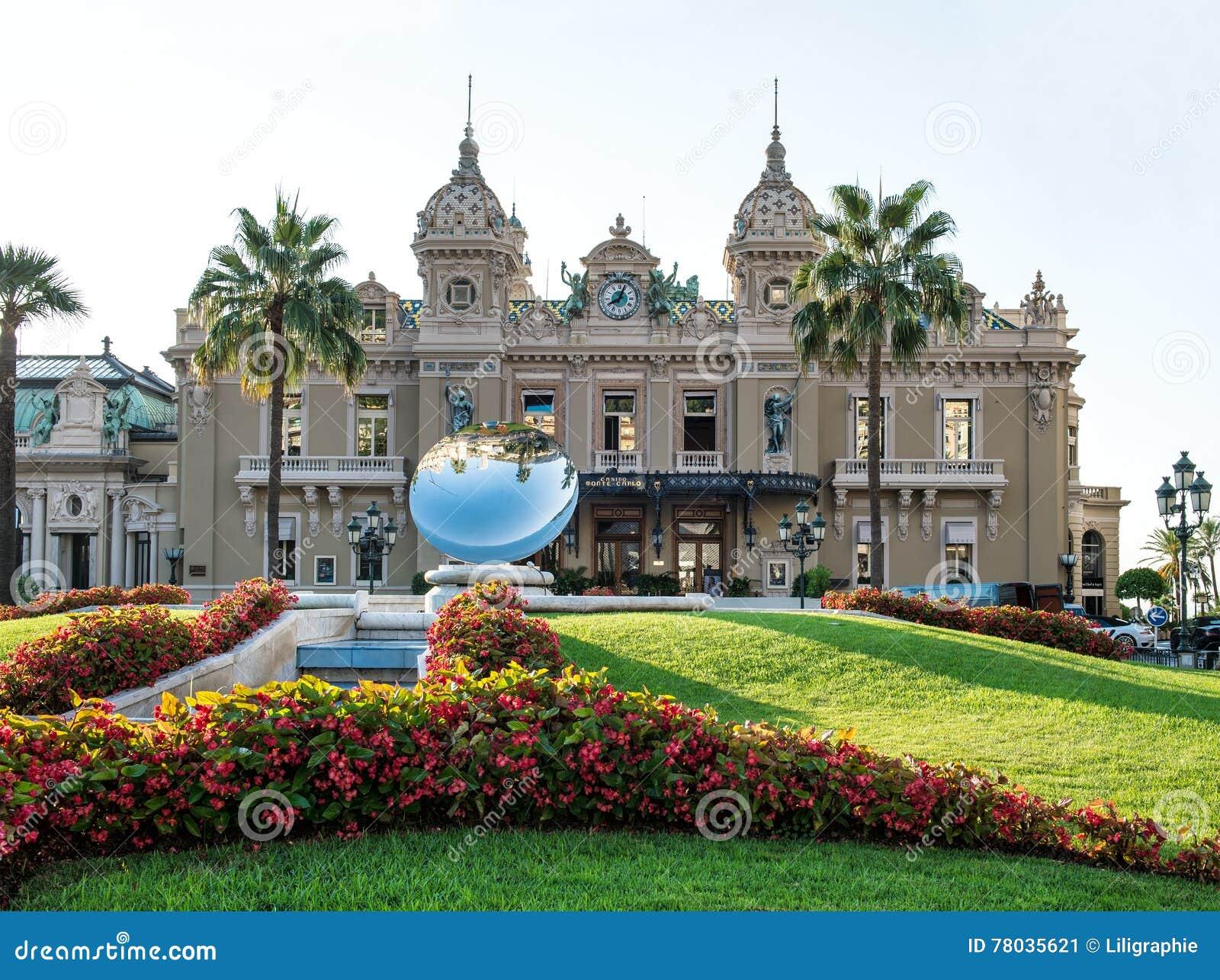Groot Casino in Monte Carlo, oriëntatiepunt van Monaco