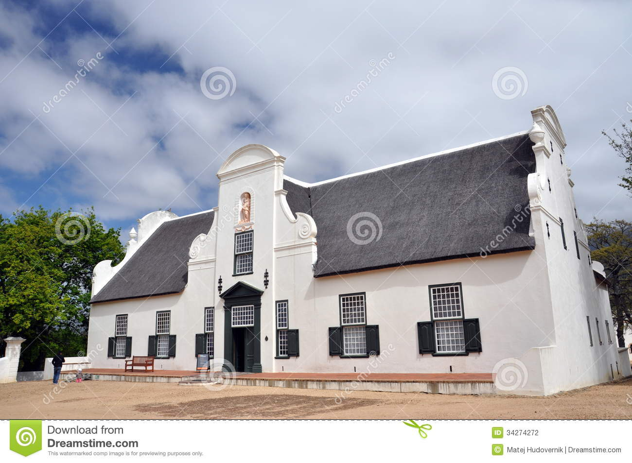 Groot Constantia Cape Town South Africa Stock Photo