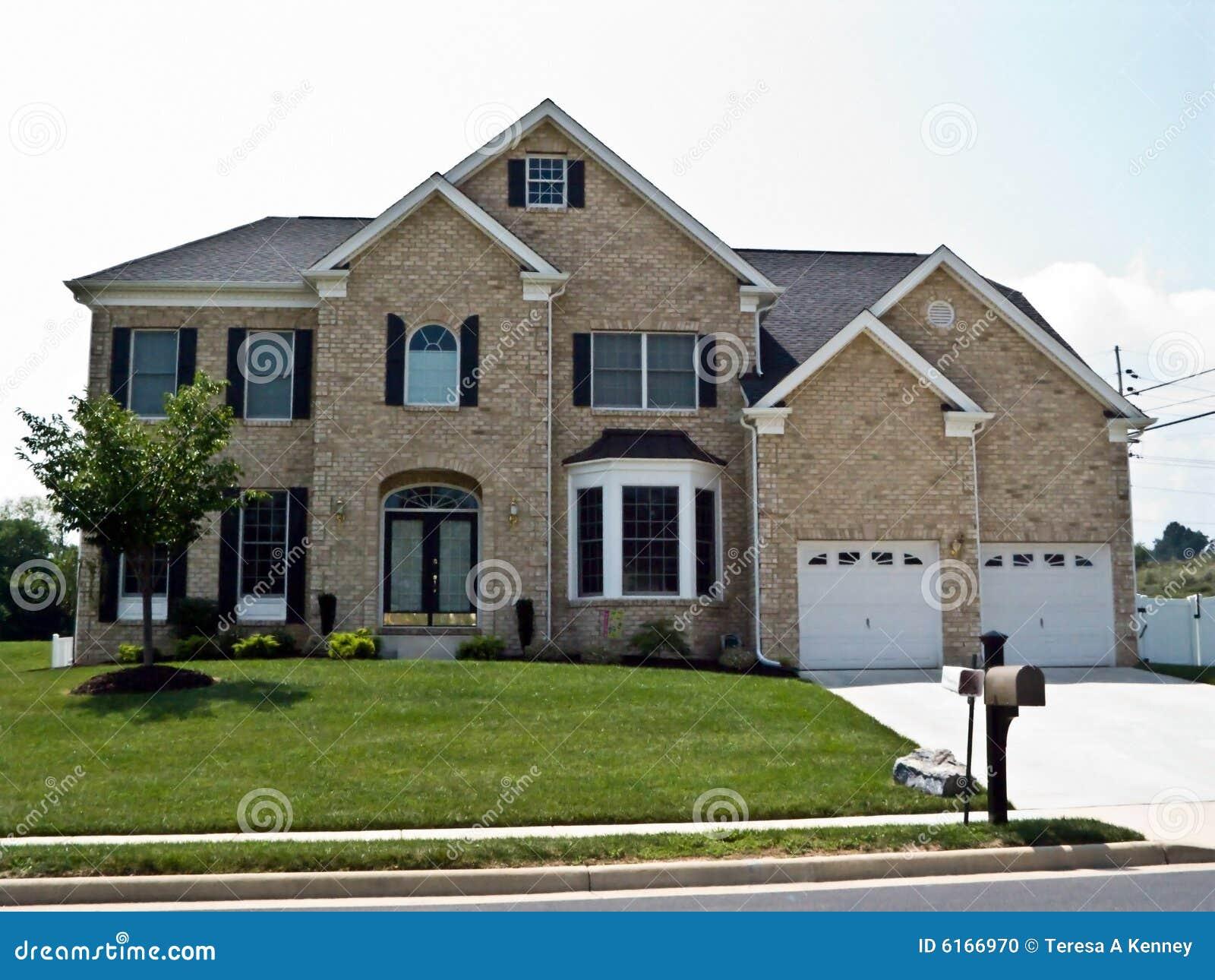 Groot huis stock foto afbeelding 6166970 - Huis van de cabriolet ...