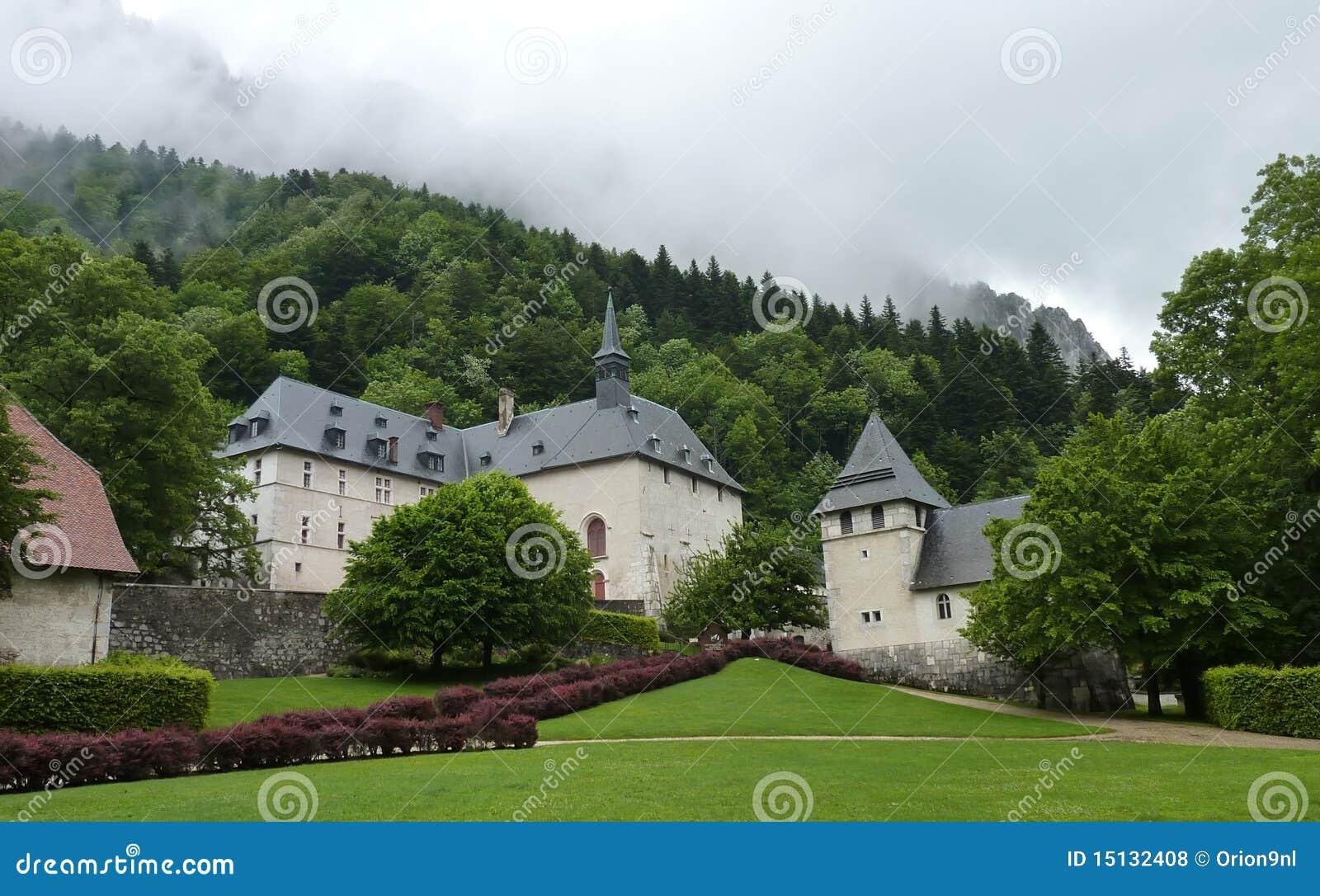 Download Groot Museum Chartreuse stock foto. Afbeelding bestaande uit klooster - 15132408