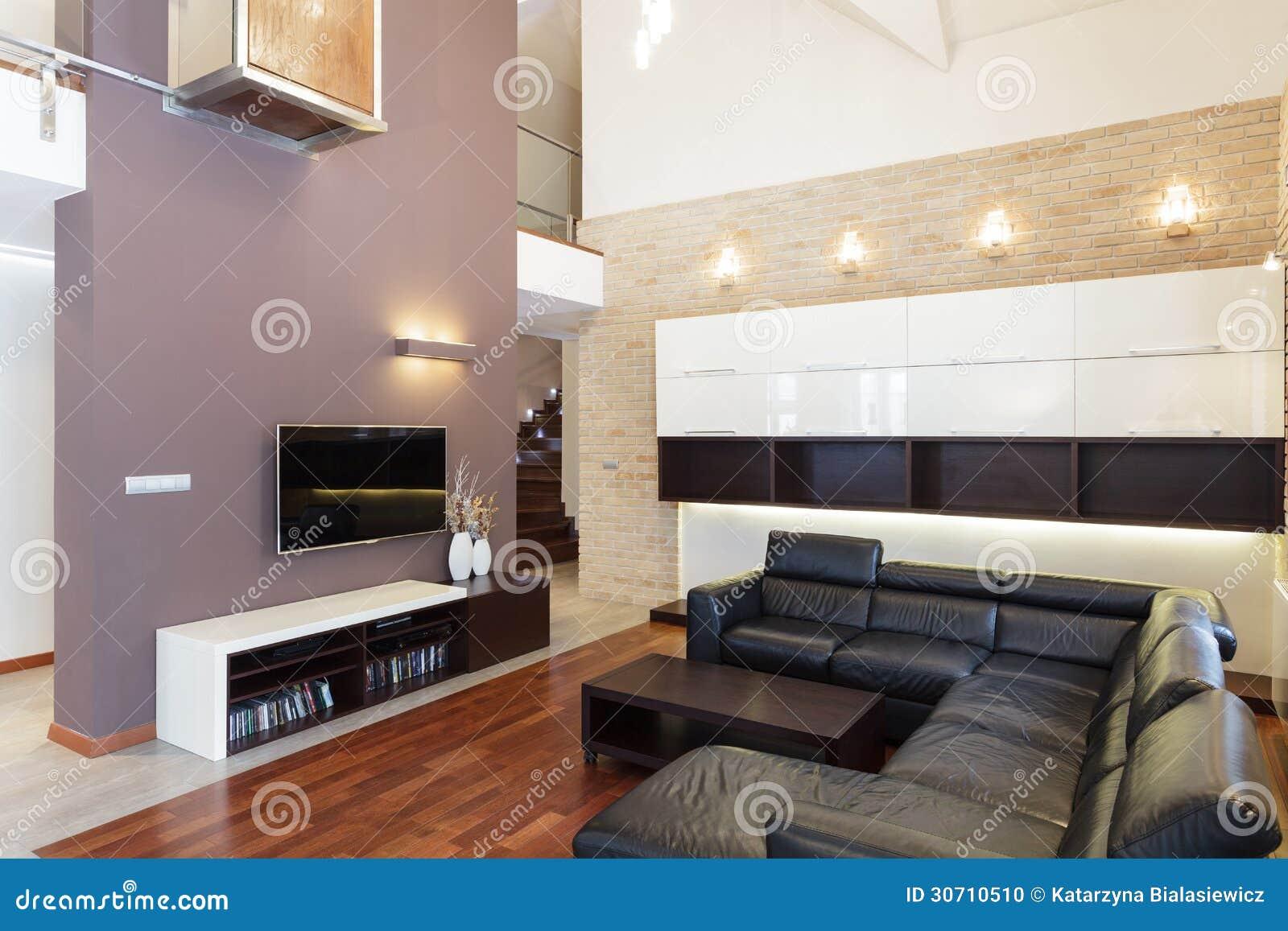 Groot ontwerp   woonkamer stock foto   afbeelding: 30710510