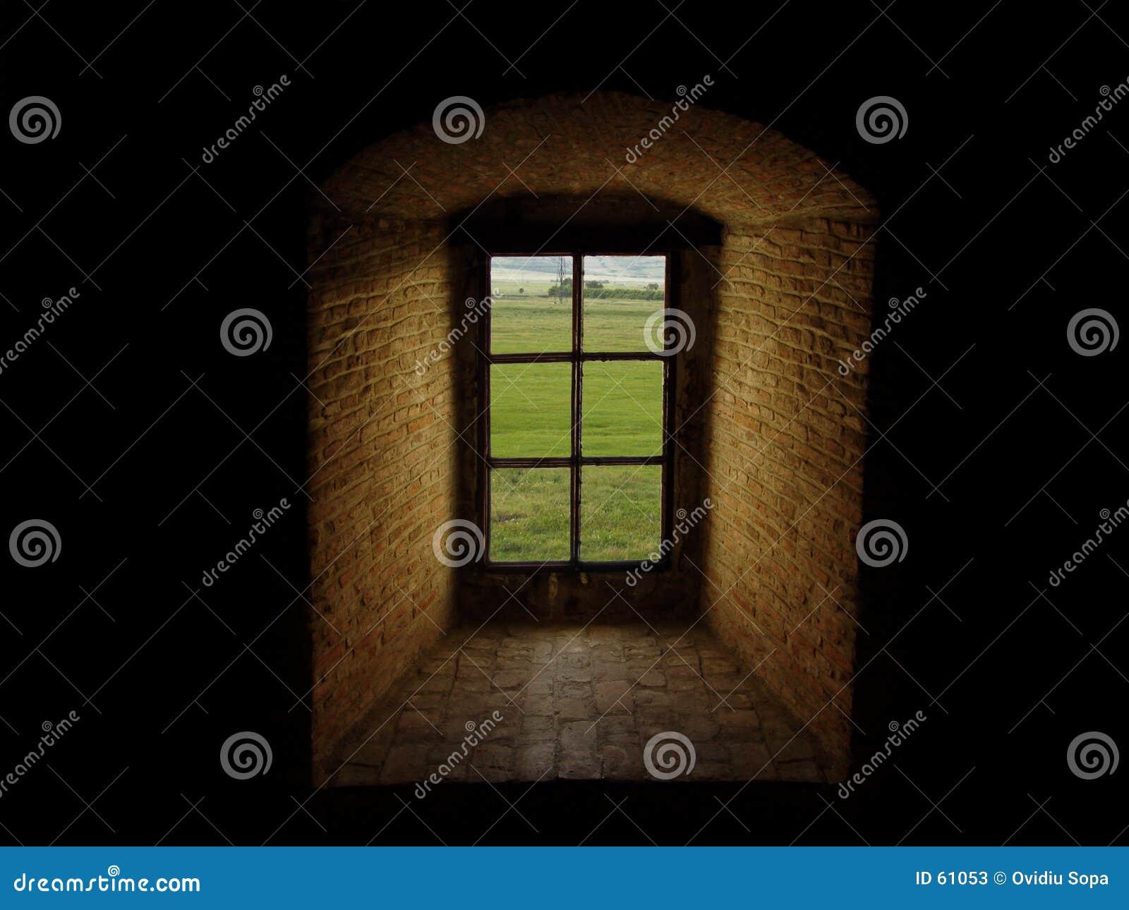 Groot oud venster