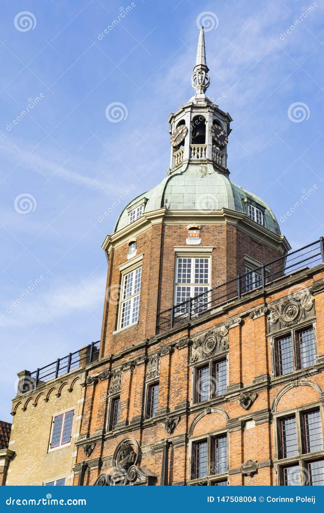 Groothoofdspoort in Dordrecht, Nederland