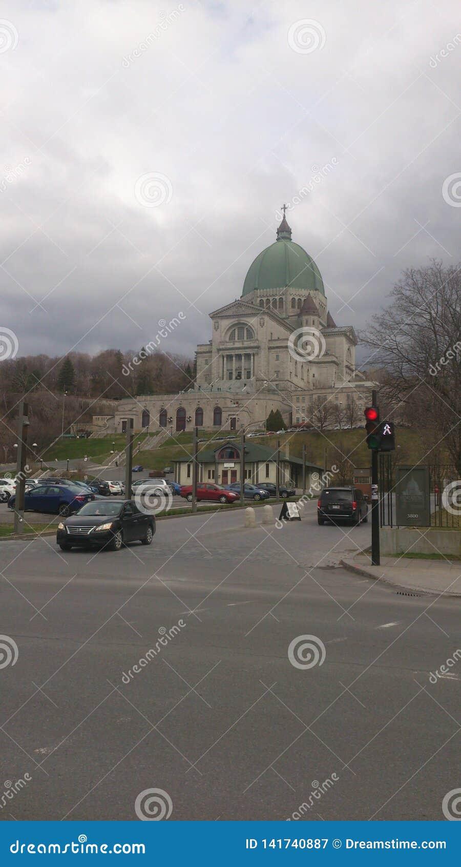 Grootste kerk in Canada Montreal de retorica van st Joseph