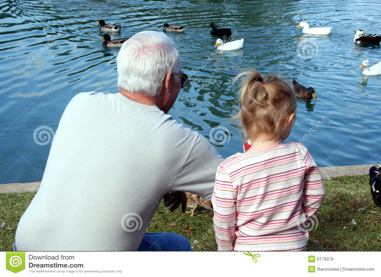 Grootvader en Kind