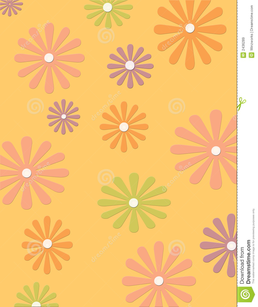 groovy flower background royalty free stock images image