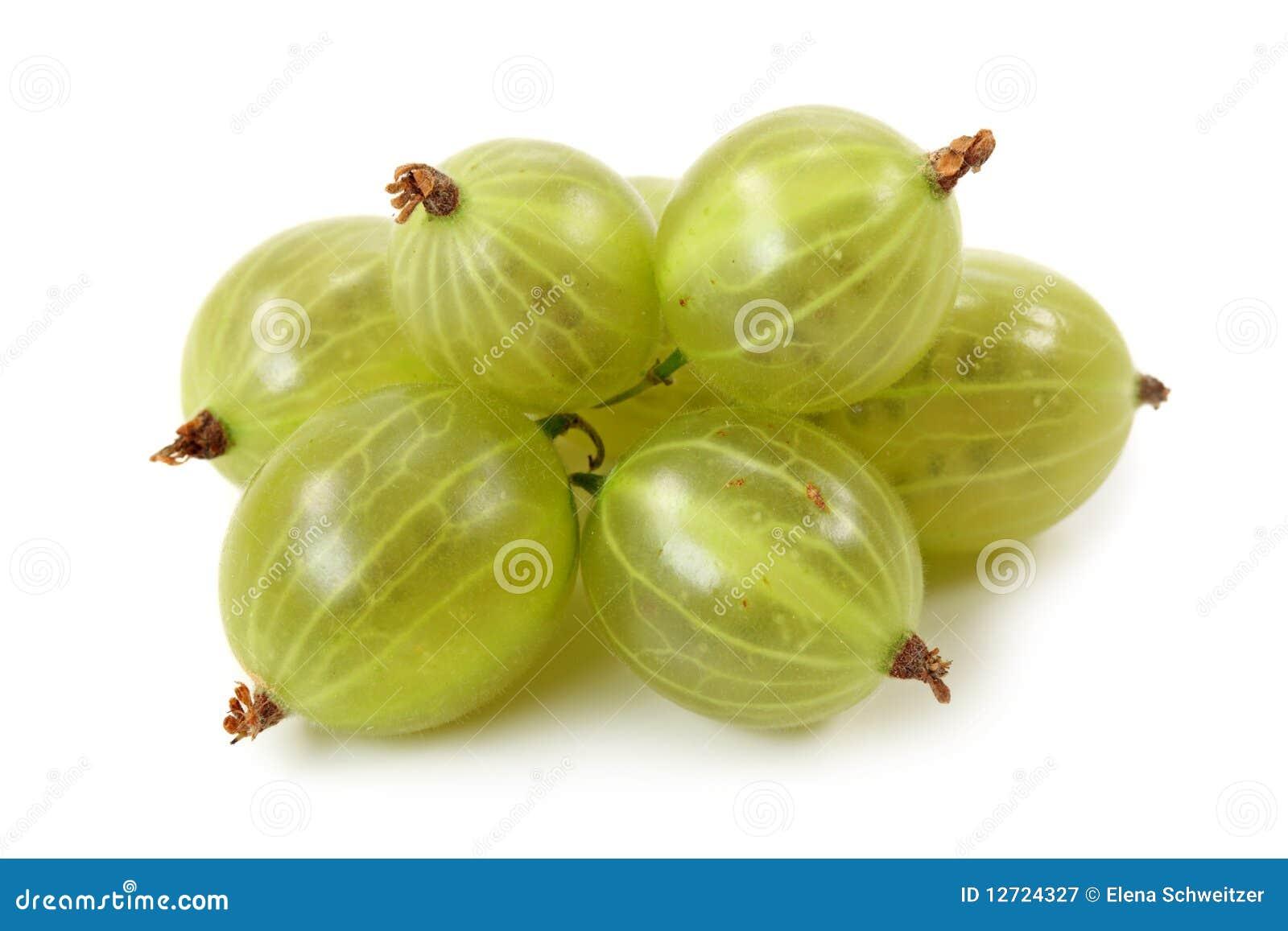 Groseilles à maquereau vertes