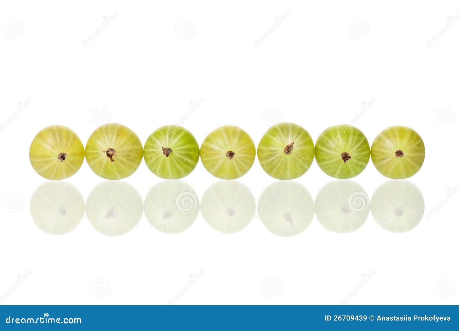 Grosella espinosa madura