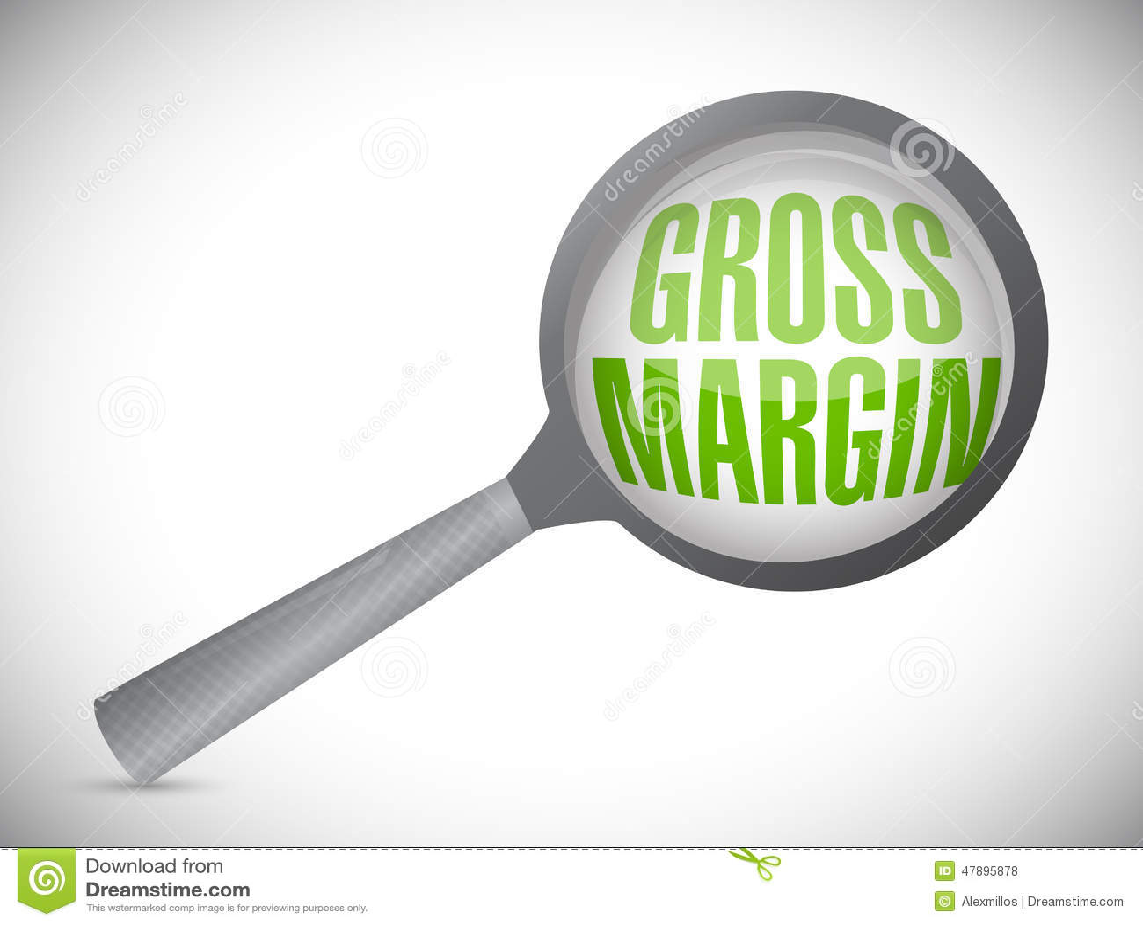 gross margin magnify search illustration design stock illustration image 47895878. Black Bedroom Furniture Sets. Home Design Ideas