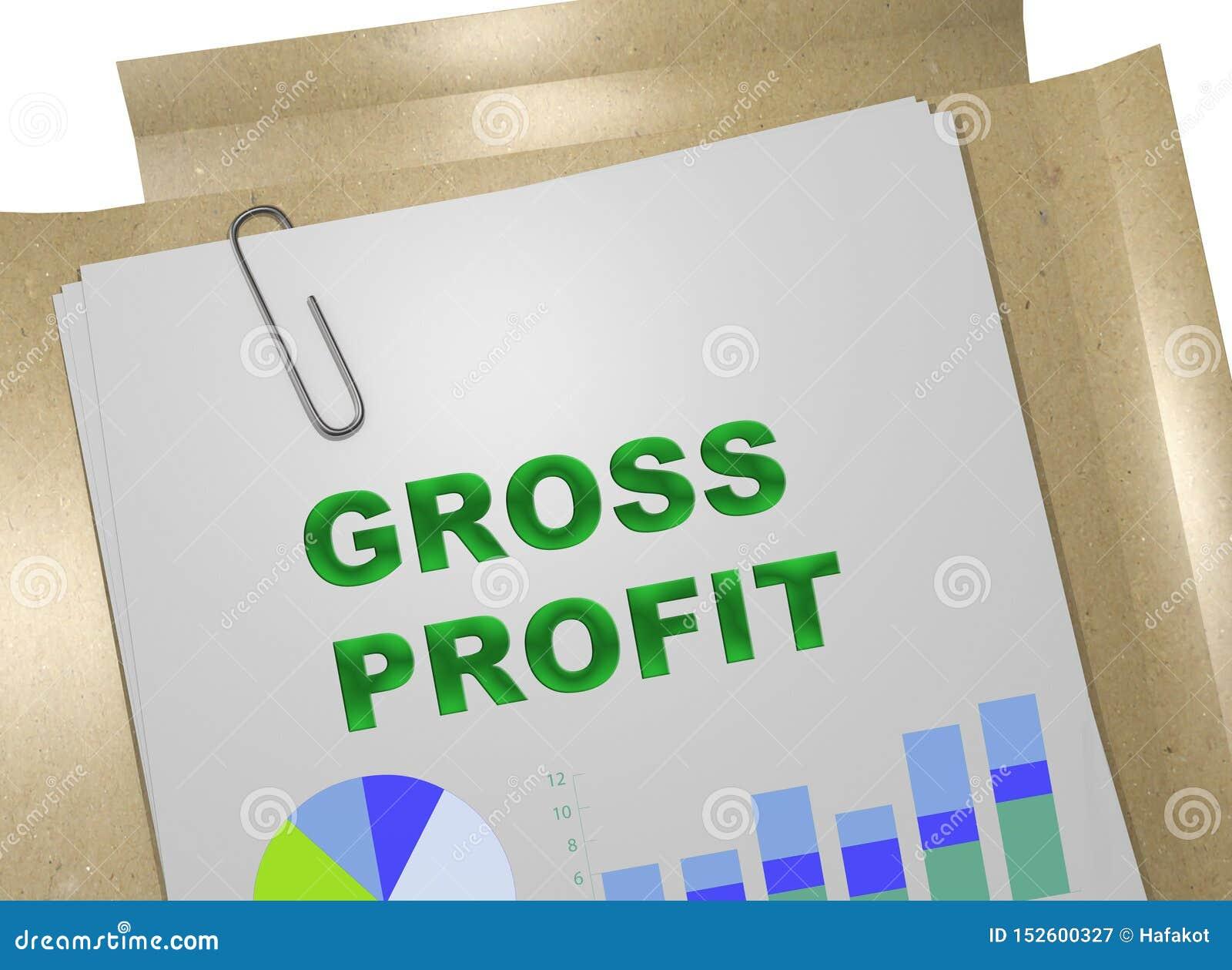 GROSS PROFIT concept