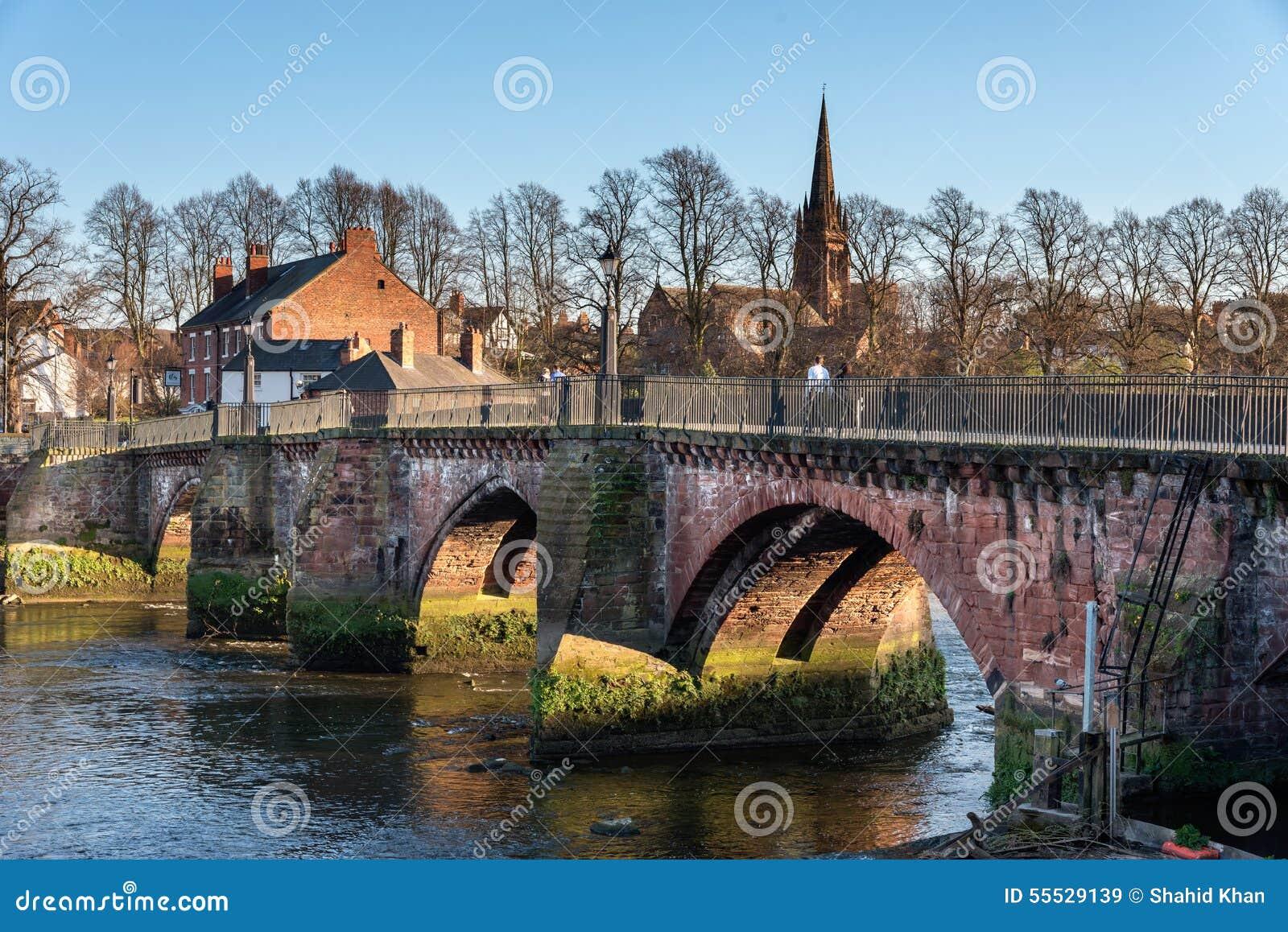 Grosvenor桥梁彻斯特彻斯特英国