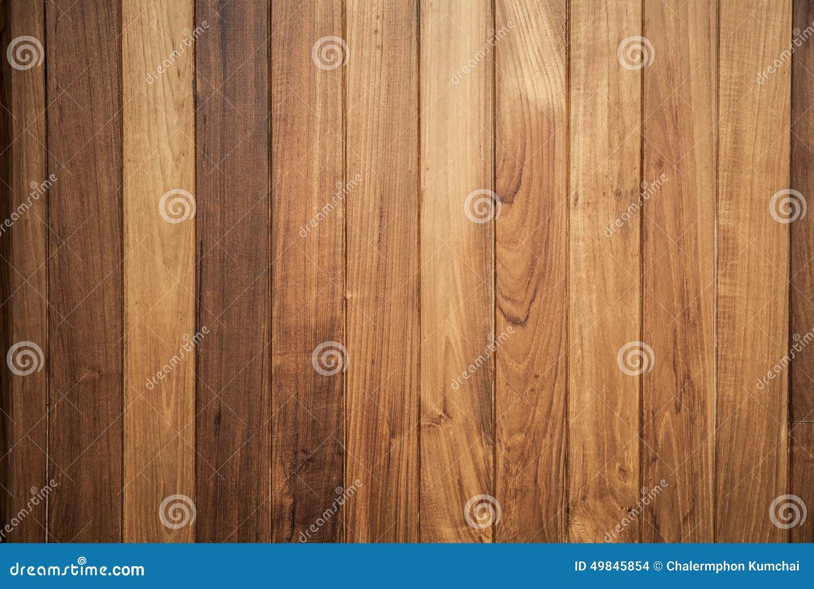 Grote Bruine houten de textuurachtergrond van de plankmuur