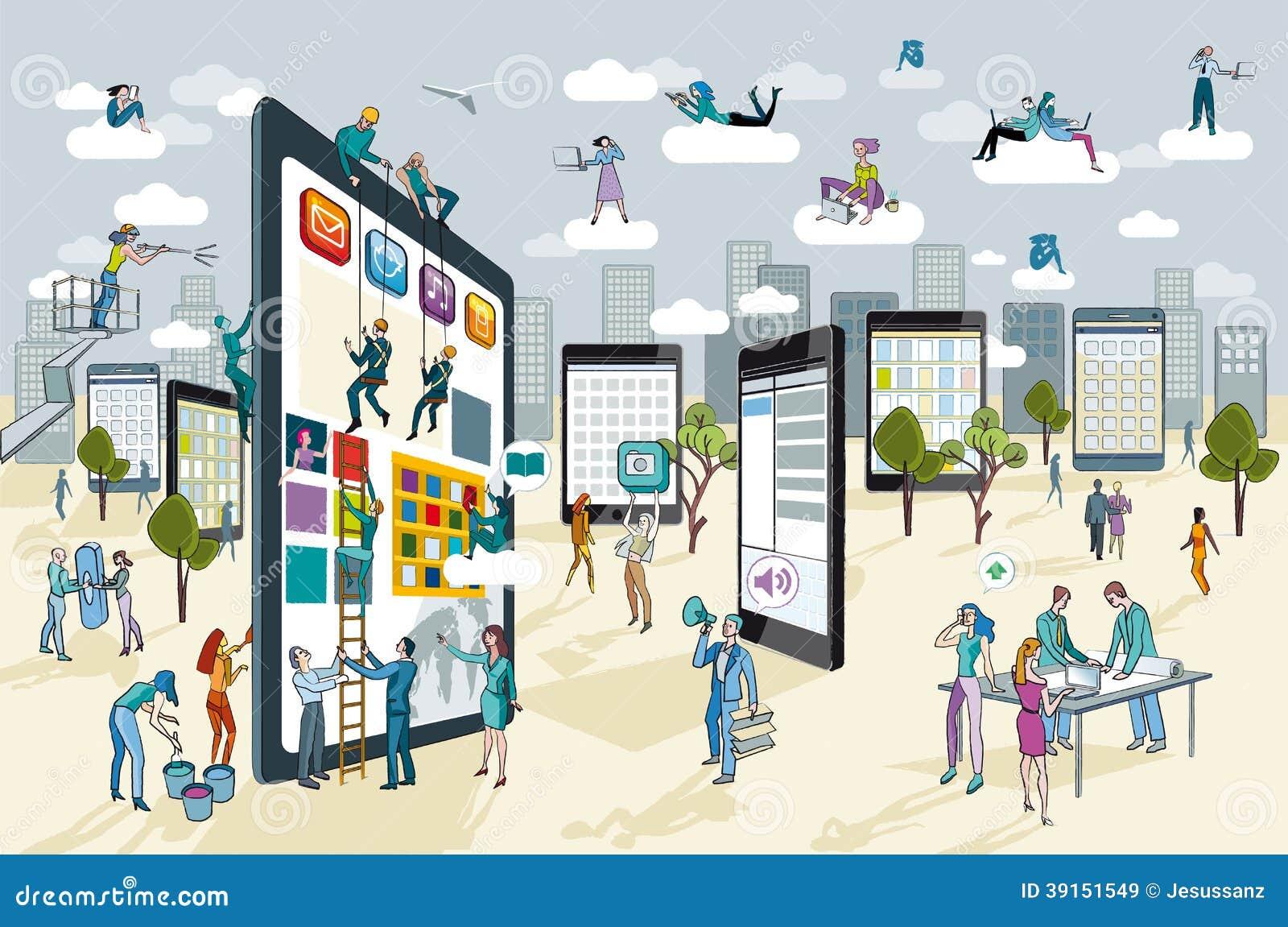Grote Digitale Tablet