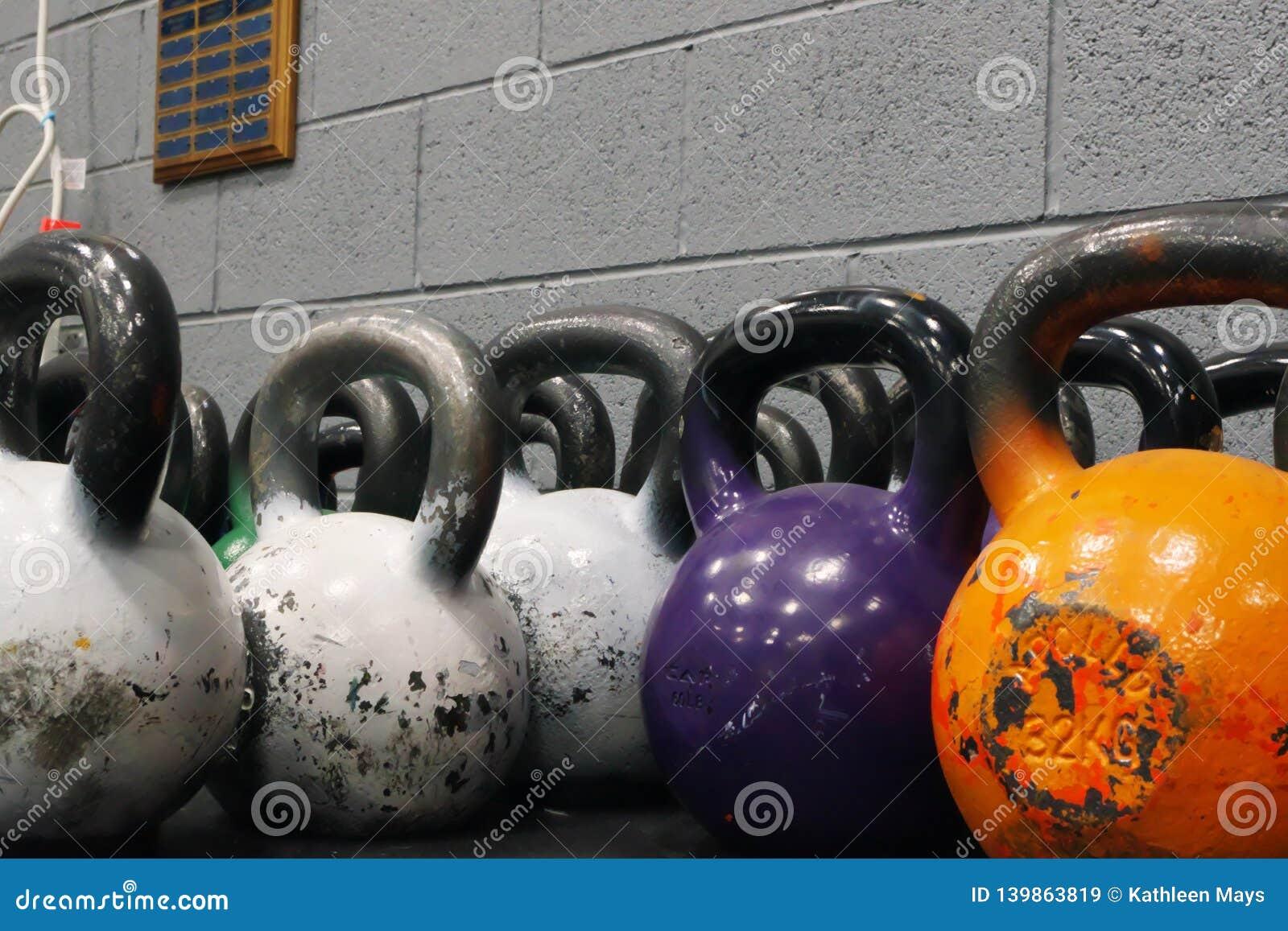 Grote Kettlebell-Gewichten