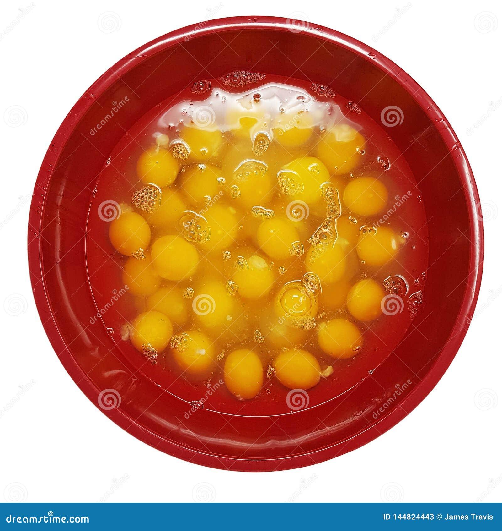 Grote Kom van Gebarsten Eieren
