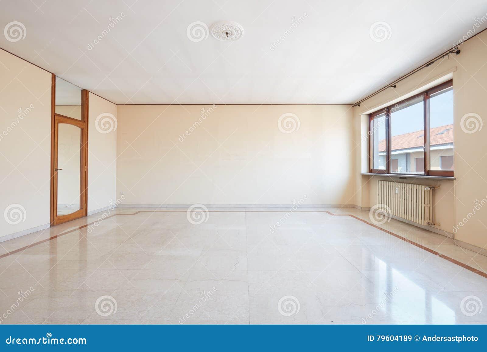 Marmer In Woonkamer : Grote lege woonkamer binnenlandse marmeren vloer stock afbeelding