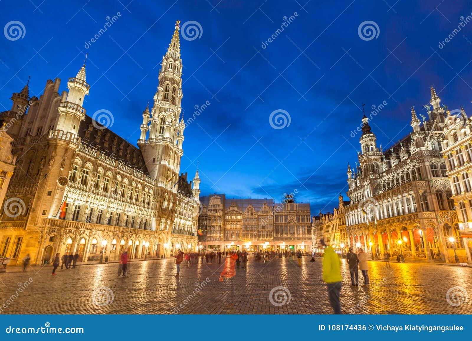 Grote Plaats in Brussel België