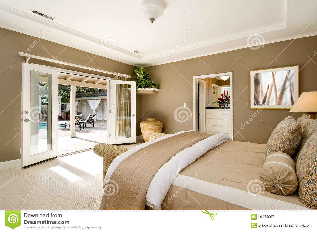 Grote Slaapkamer Stock Photos - Royalty Free Images