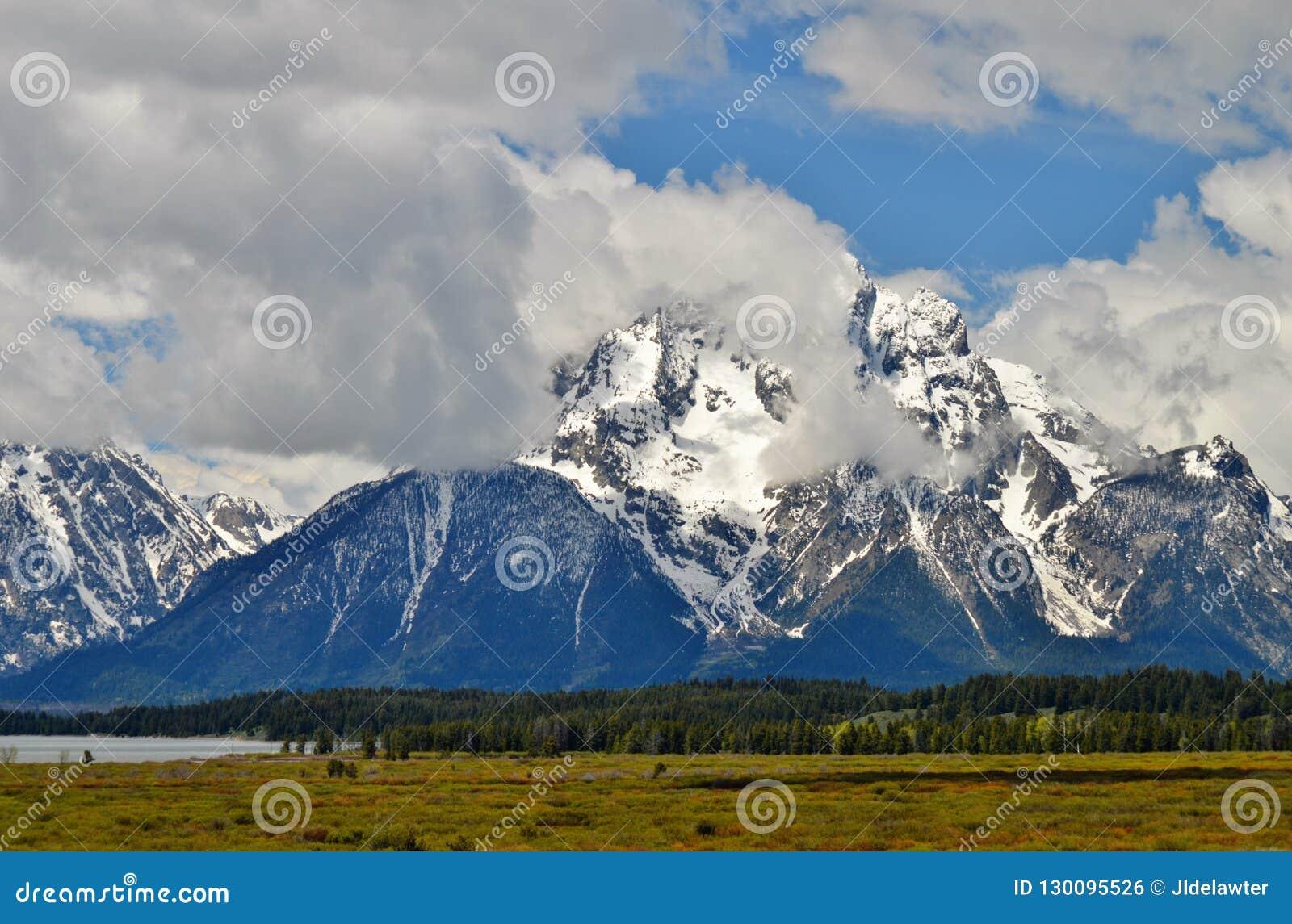 Grote Tetons in Wyoming
