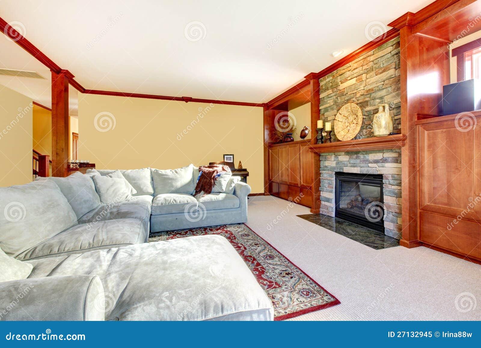 De grijze woonkamer van de bank stock foto's– 62 de grijze ...