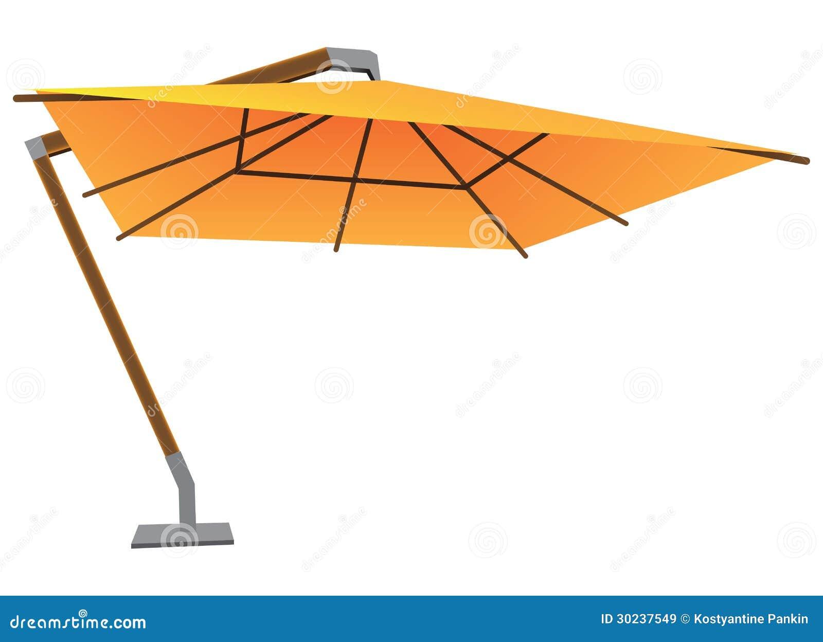 Grote Parasol Vector Illustratie Illustratie Bestaande Uit Parasol 30237549