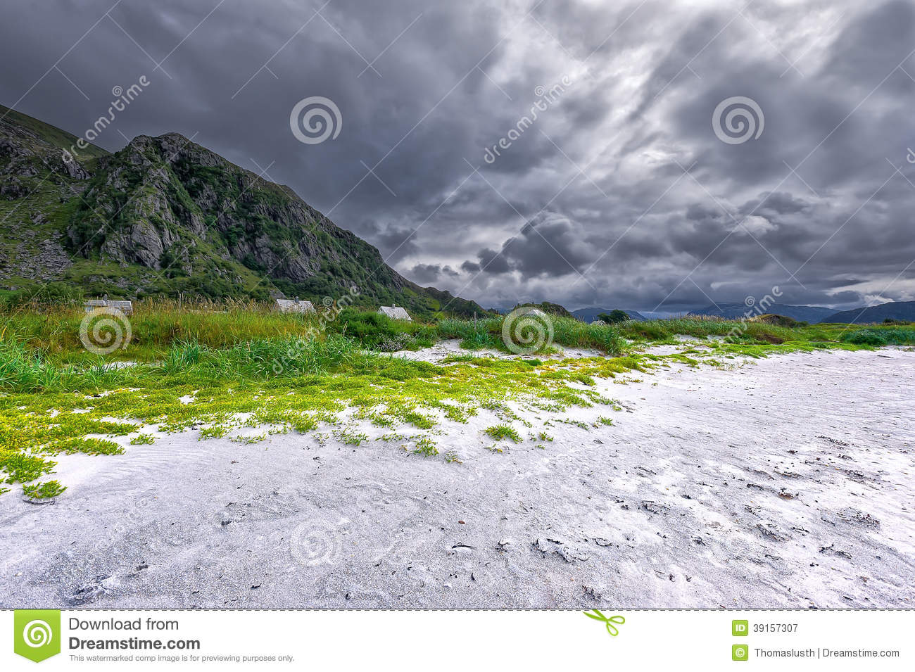 Grotlesanden Beach Stock Photo - Image: 39157307
